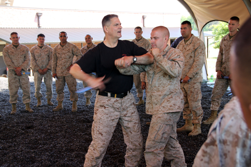 Jack Hoban is one of the creators of the Marine Corps Martial Arts Program and still trains Marines numerous times per year out at the MACE in Quantico VA.