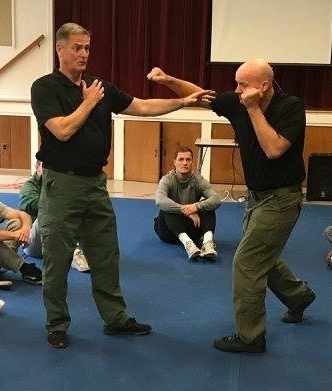 Jack is the president of Resolution Group International an organization that teaches conflict resolutions skills, including verbal deescalation and defensive tactics to law enforcement, military and private organizations.