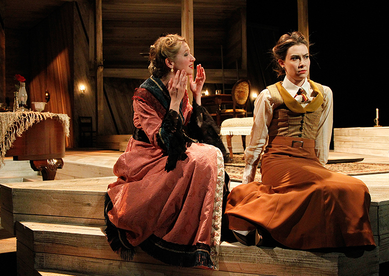 Three Sisters, PlayMakers Repertory dir. Vivienne Benesch