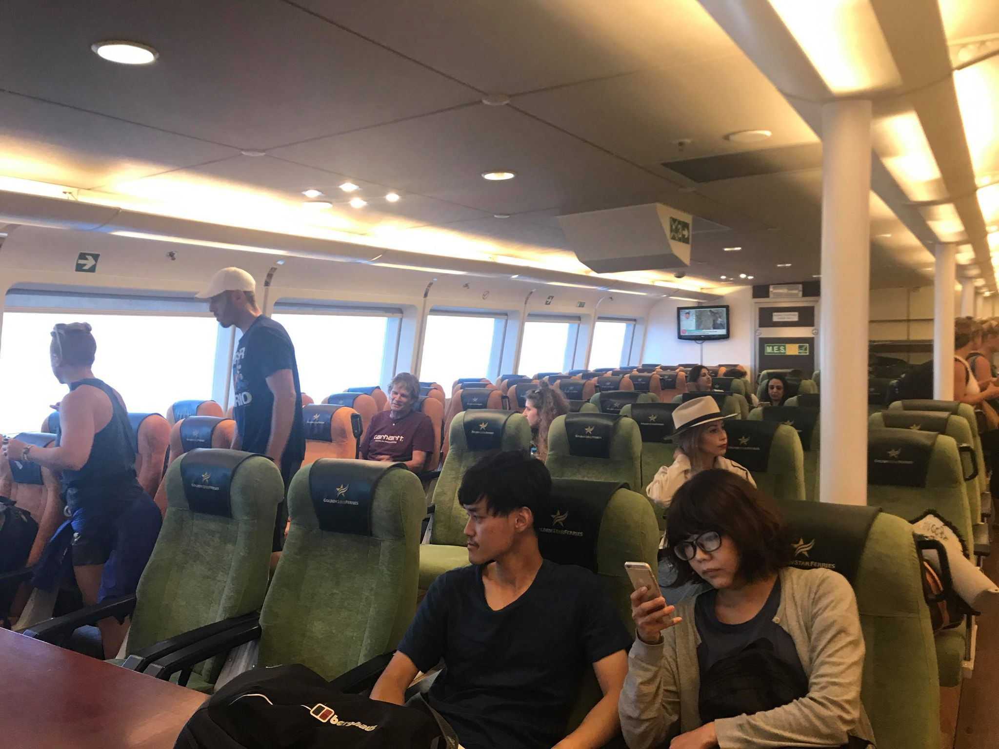 Ferry from Mykonos to Santorini (Golden Star Ferries)