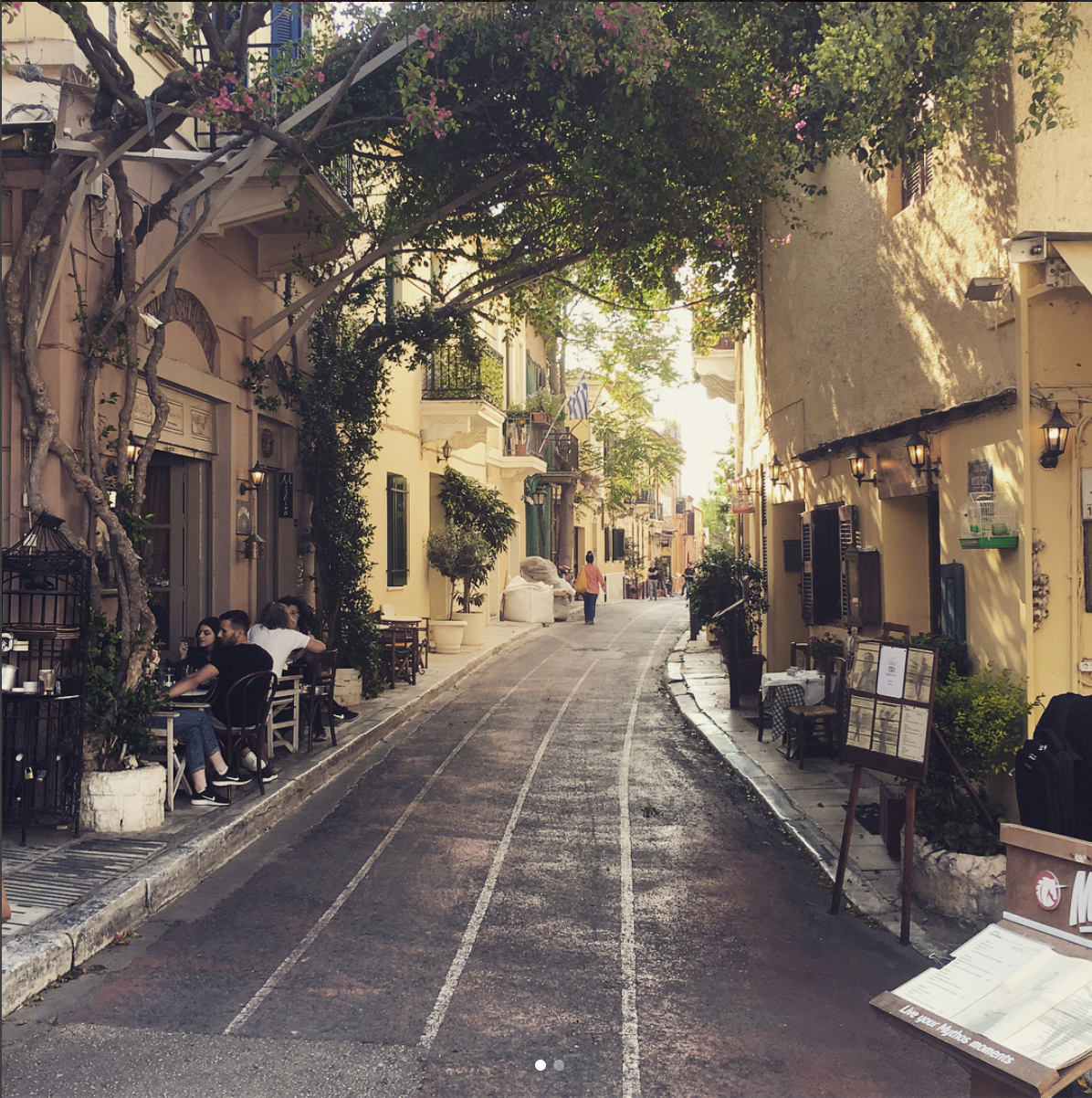 Cute little Plaka District