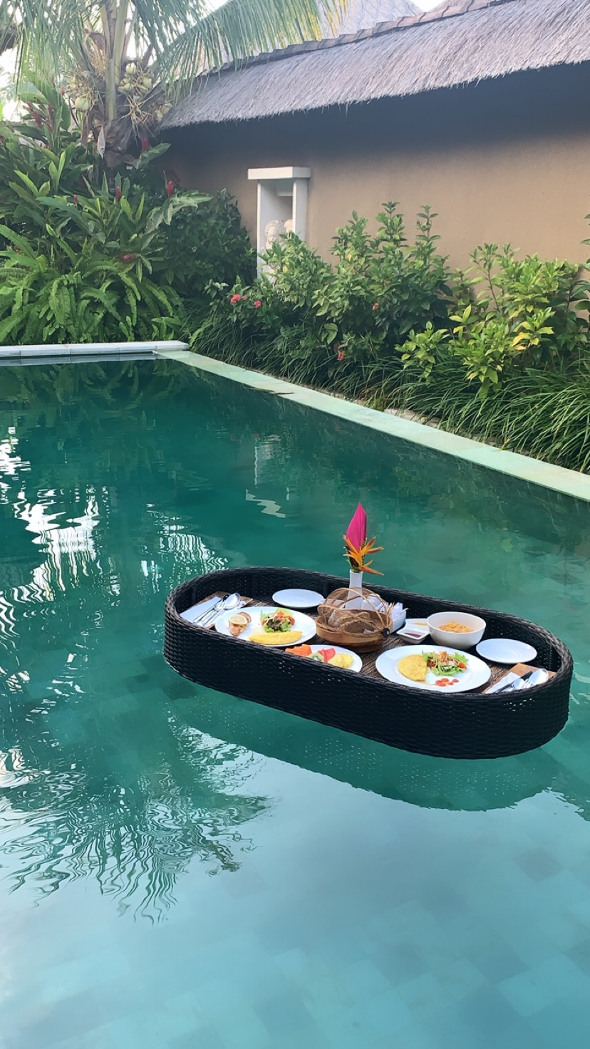 I don't want breakfast unless it's floating!