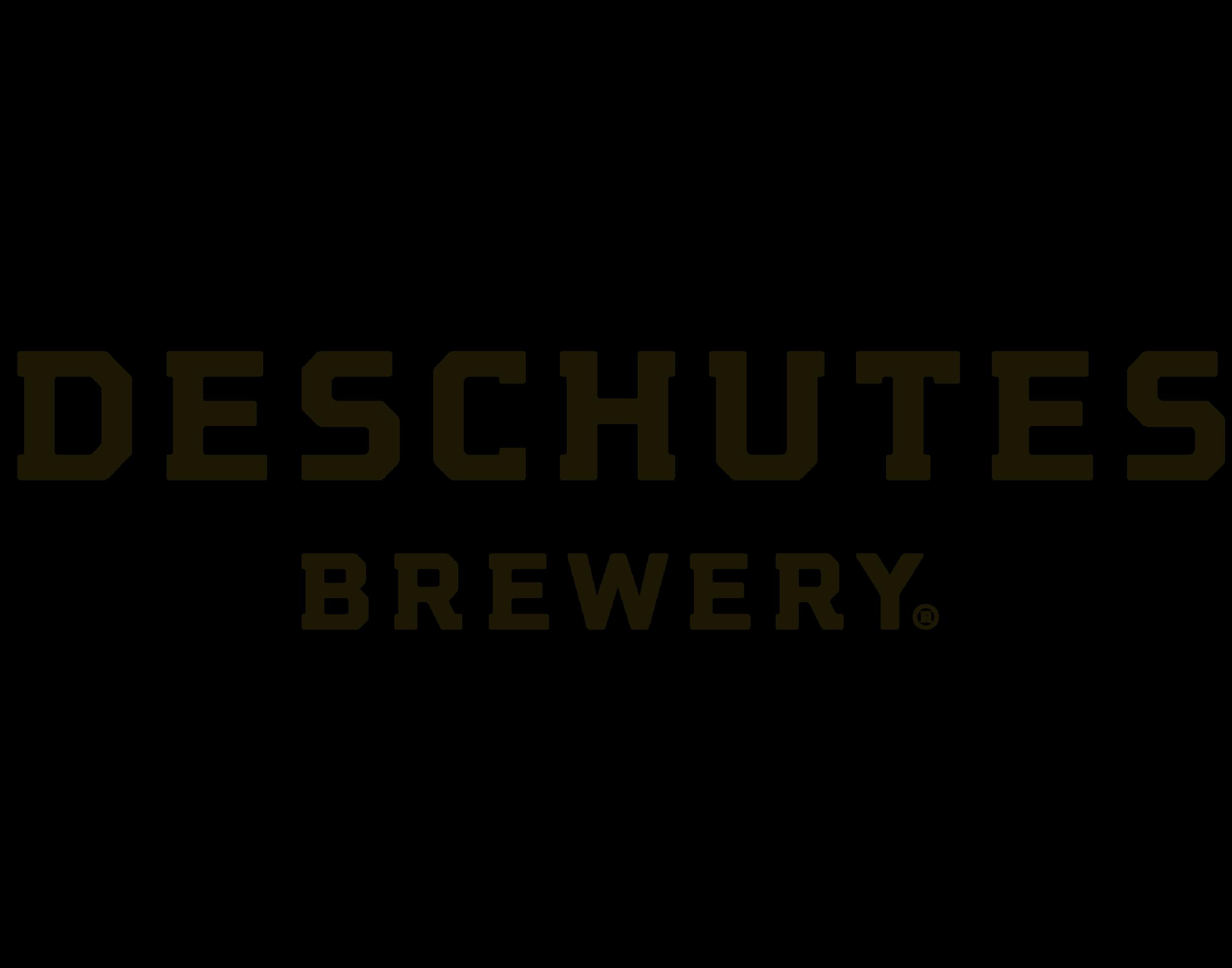Deschutes Brewery logo. Links to Deschutes Brewery website.
