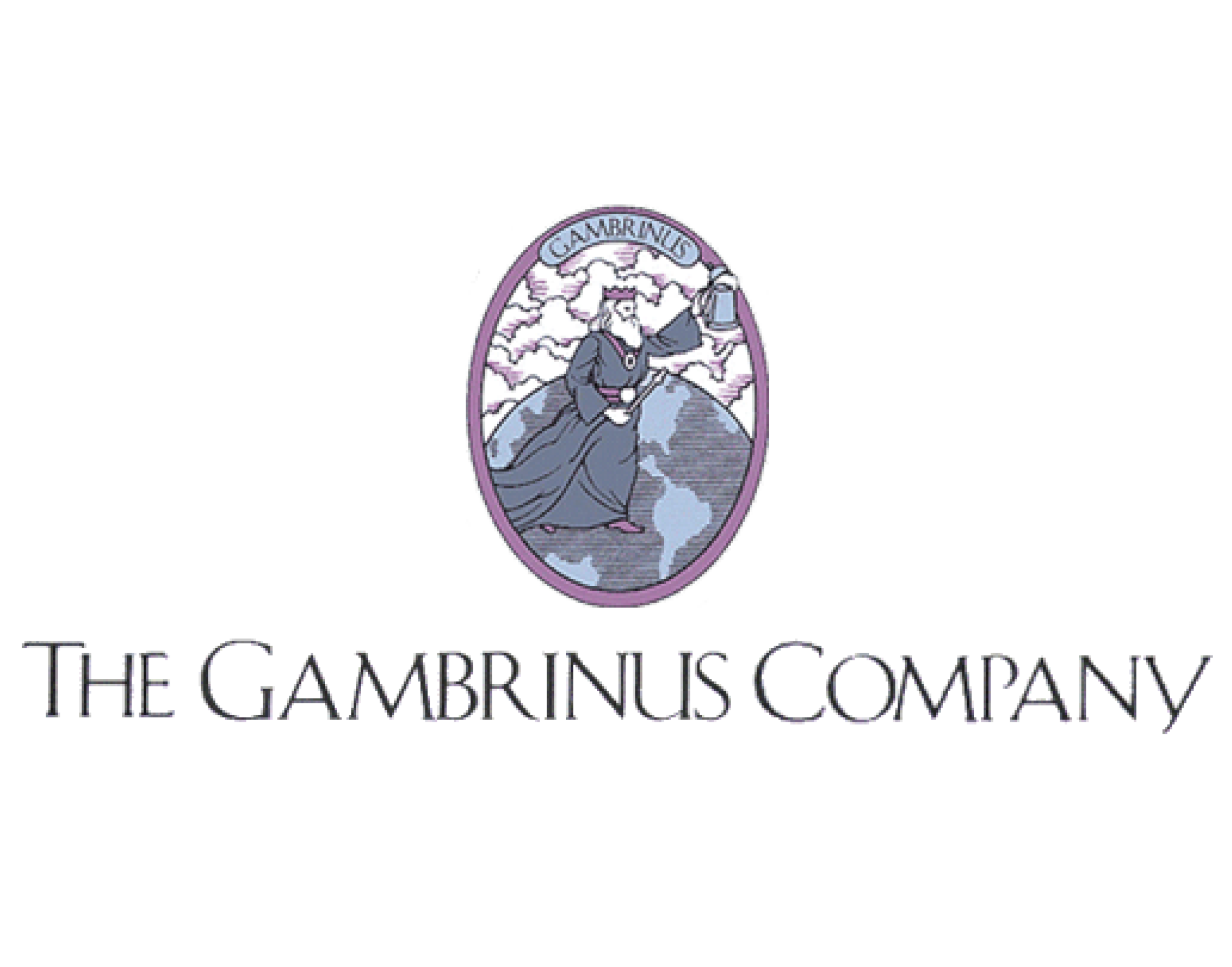 The Gambrinus Company logo. Links to the Gambrinus Company website.