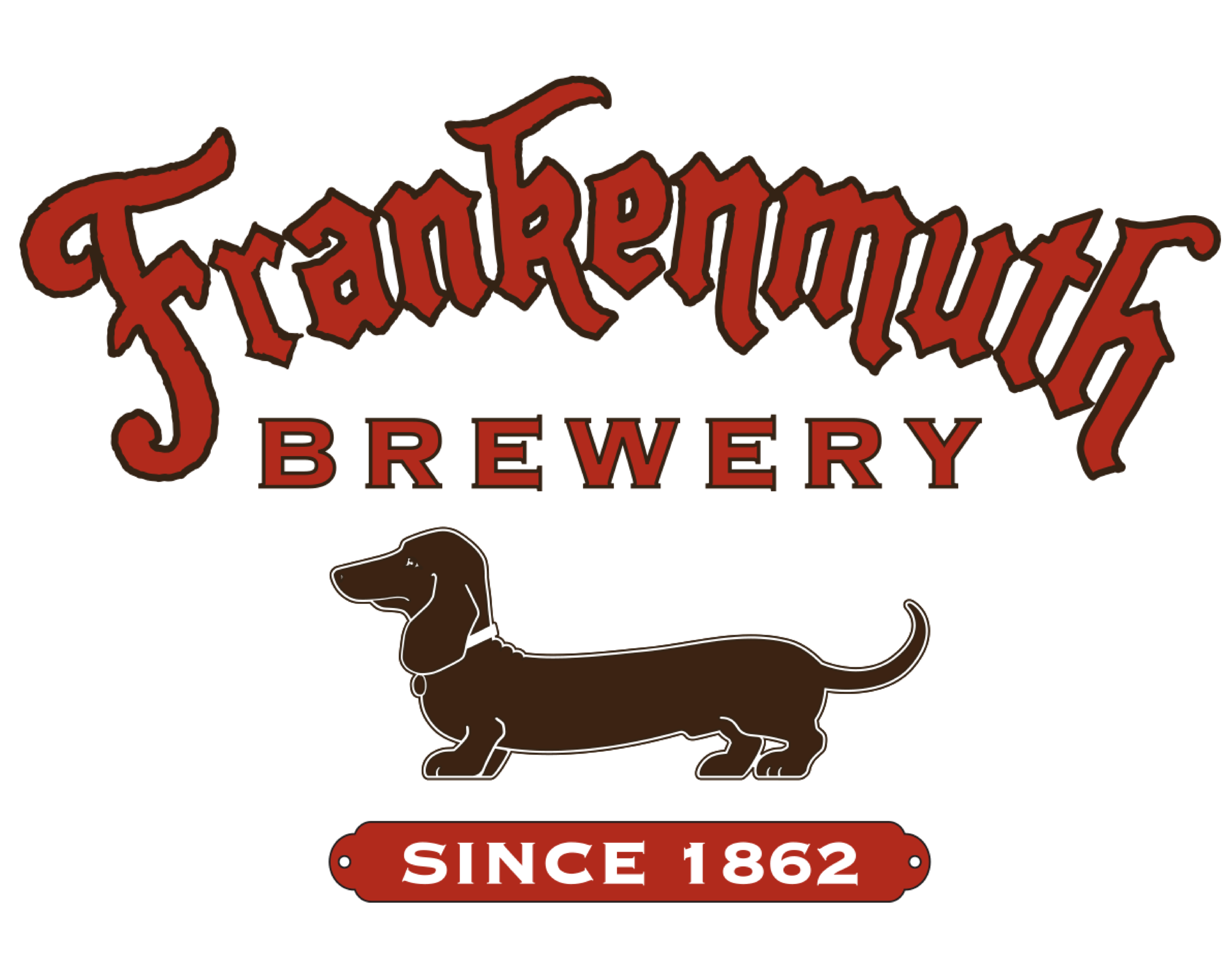 Frankenmuth Brewery logo. Links to Frankenmuth Brewery website.