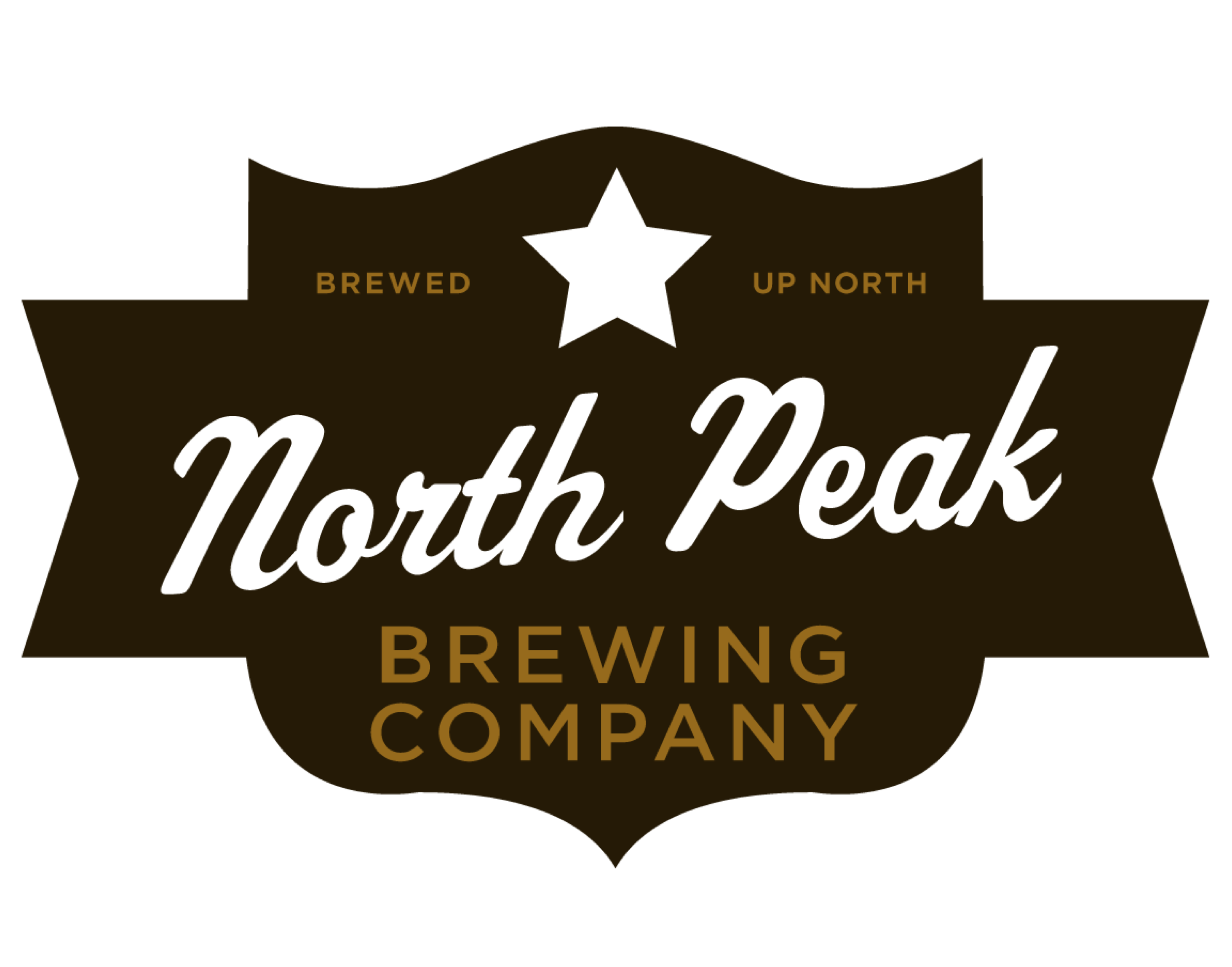 North Peak Brewing Company logo. Links to North Peak Brewing Company website.