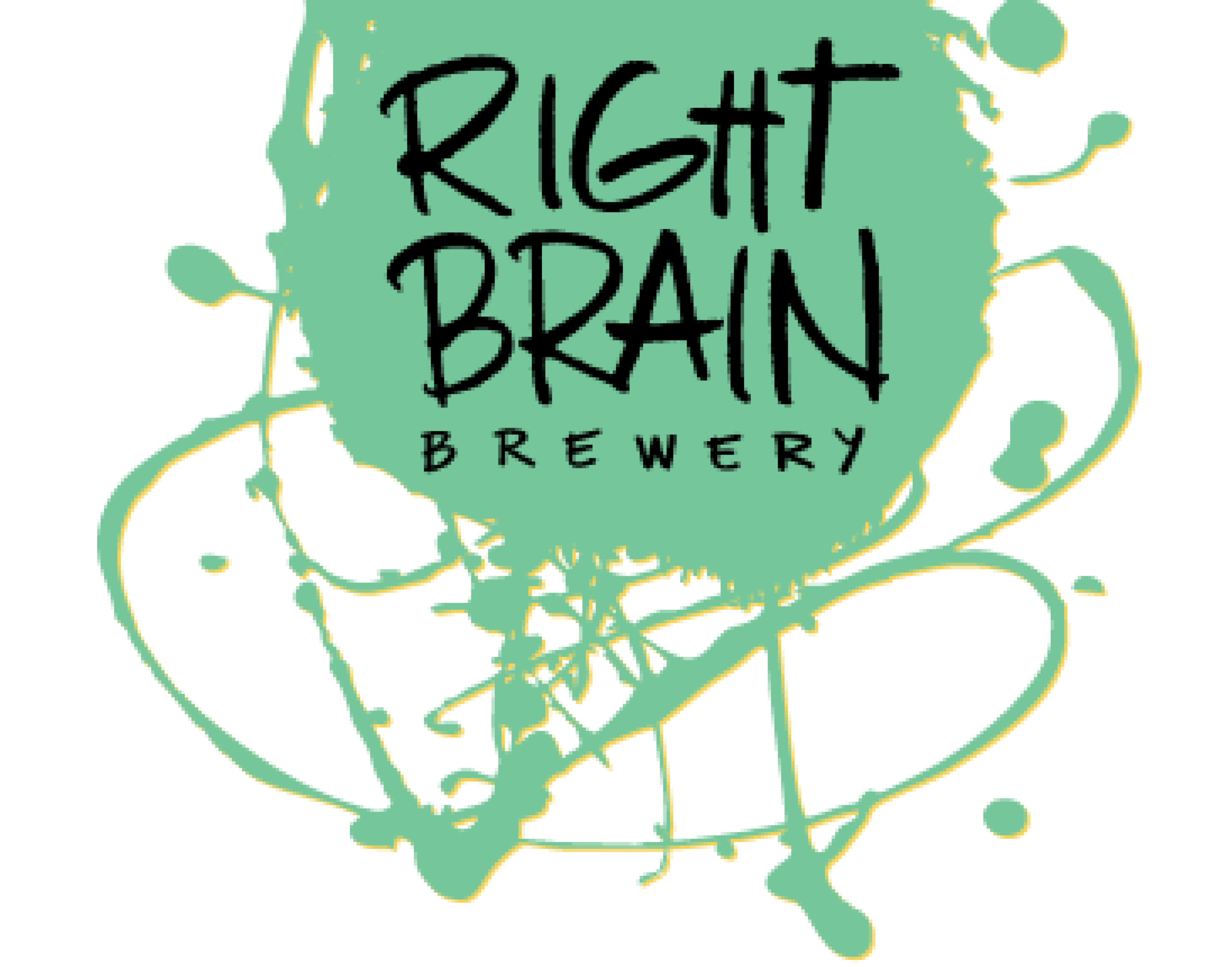 Right Brain Brewery logo. Links to Right Brain Brewery website.