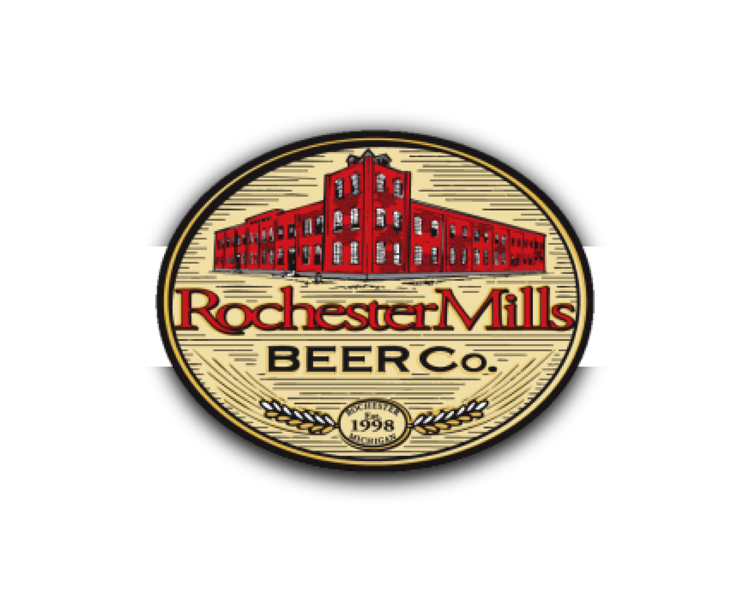 Rochester Mills Beer Company logo. Links to Rochester Mills Beer Company website.