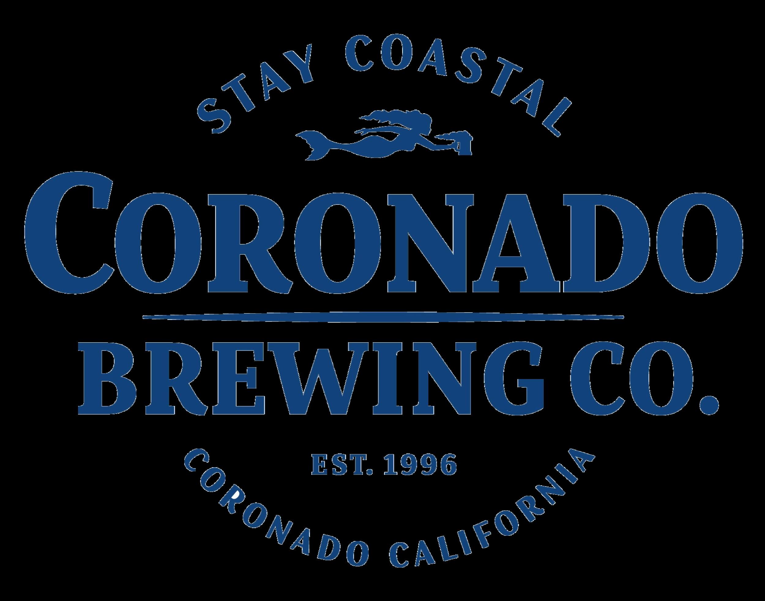 Coronado Brewing Company logo. Links to Coronado Brewing Company website.