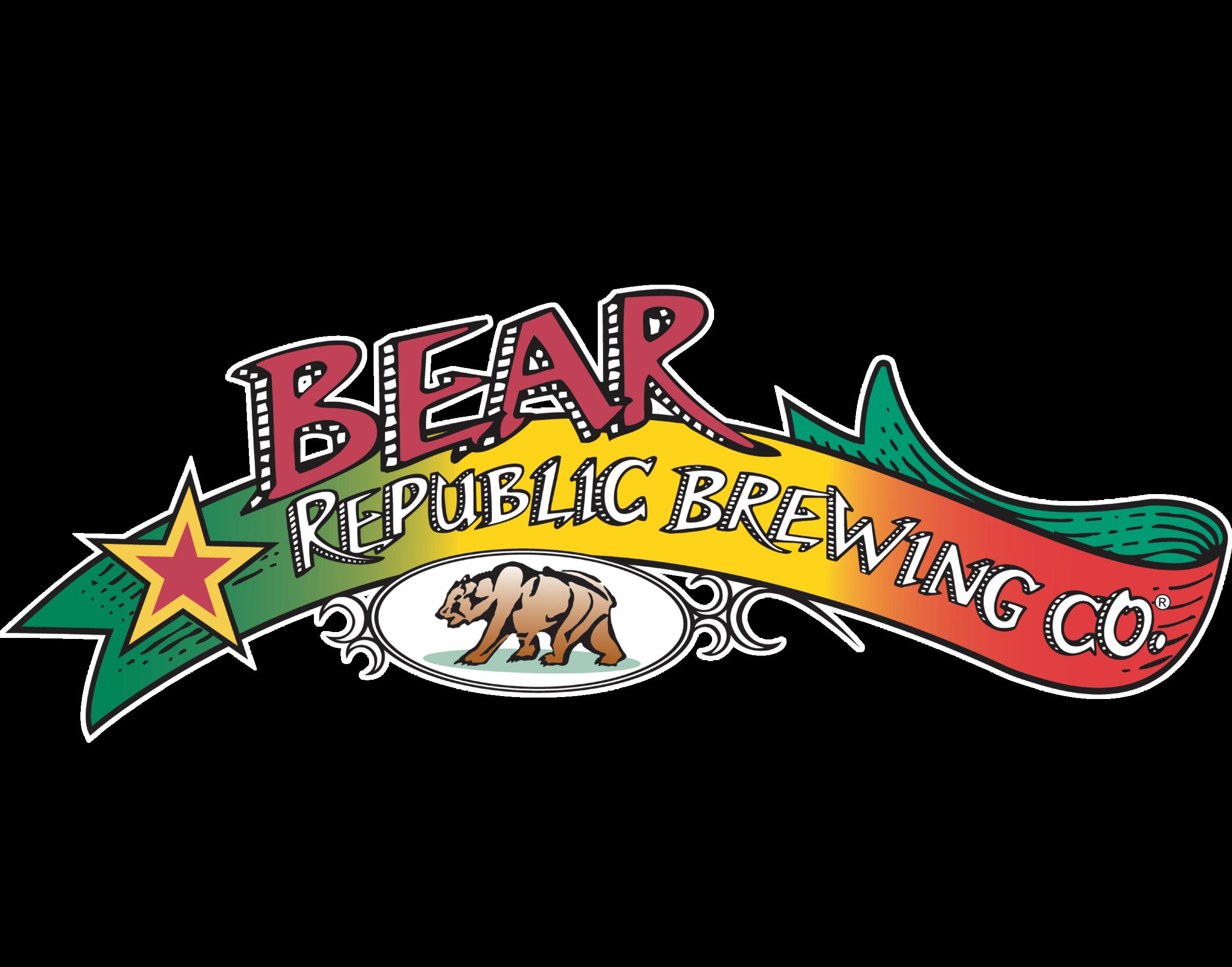 Bear Republic Brewing Co. logo. Links to Bear Republic website.
