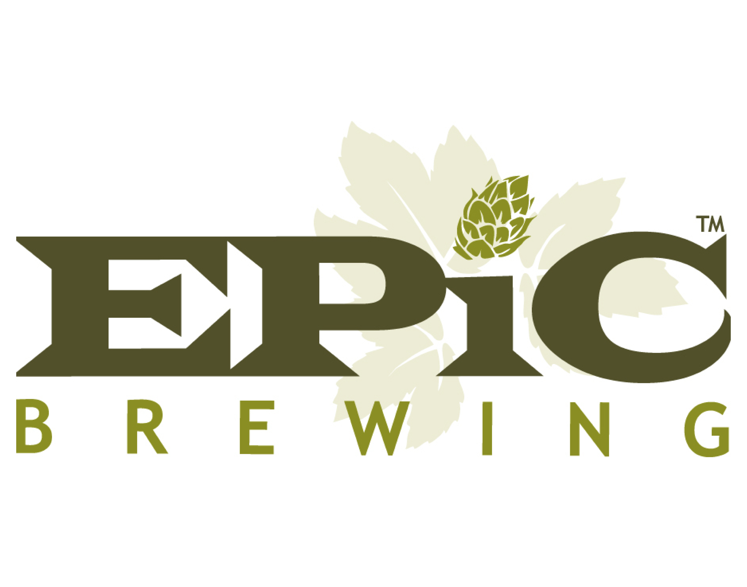 Epic Brewing logo. Links to Epic Brewing website.