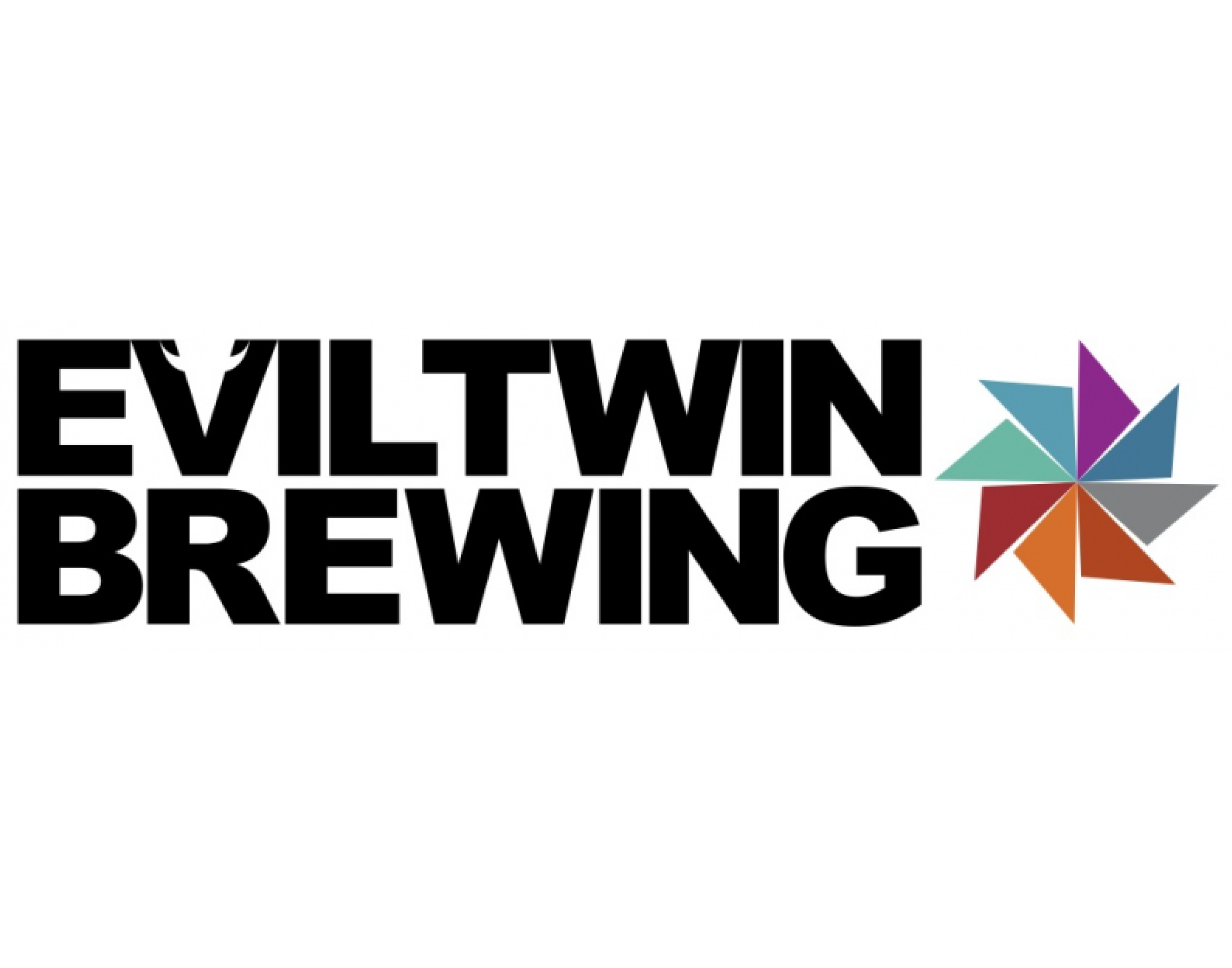 Evil Twin Brewing logo. Links to Evil Twin website.