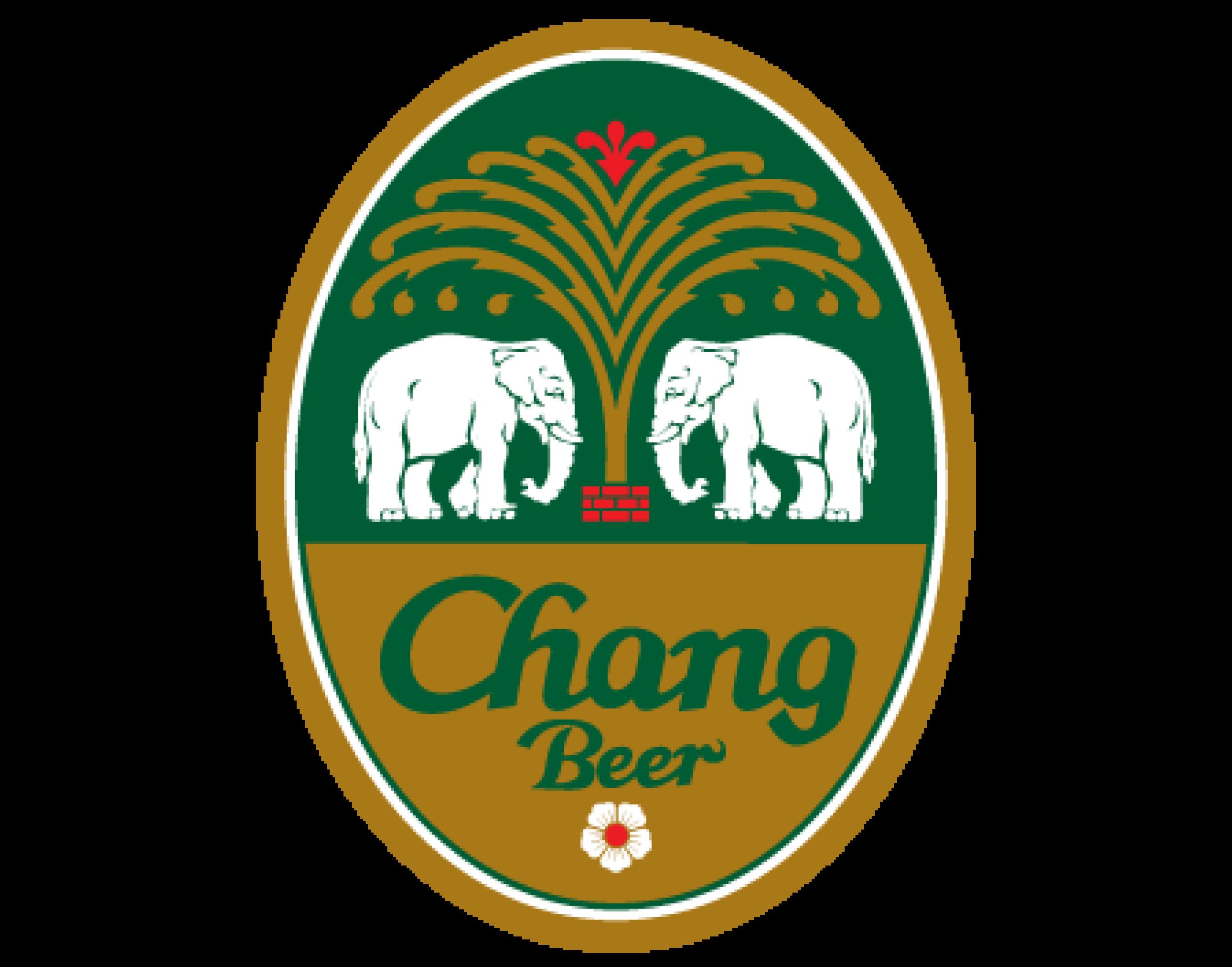Chang Beer logo. Links to Chang Beer website.