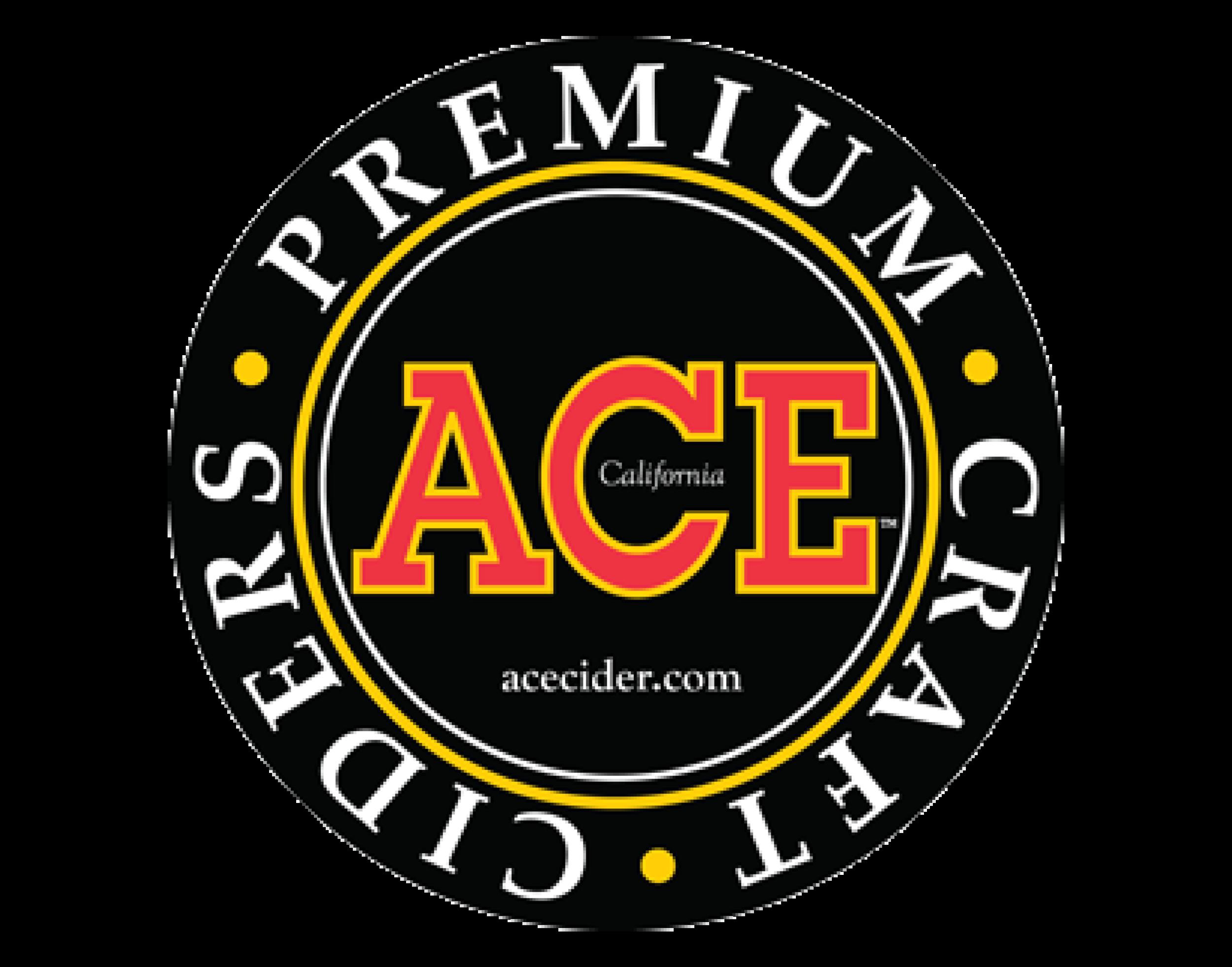 Ace Cider logo. Links to Ace Cider website.