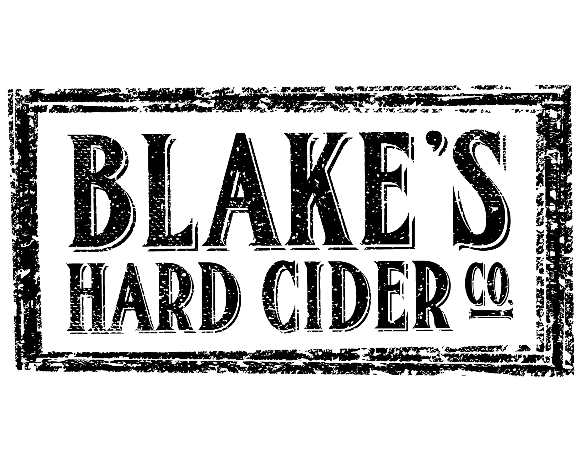 Blake's Hard Cider logo. Links to Blake's Hard Cider website.