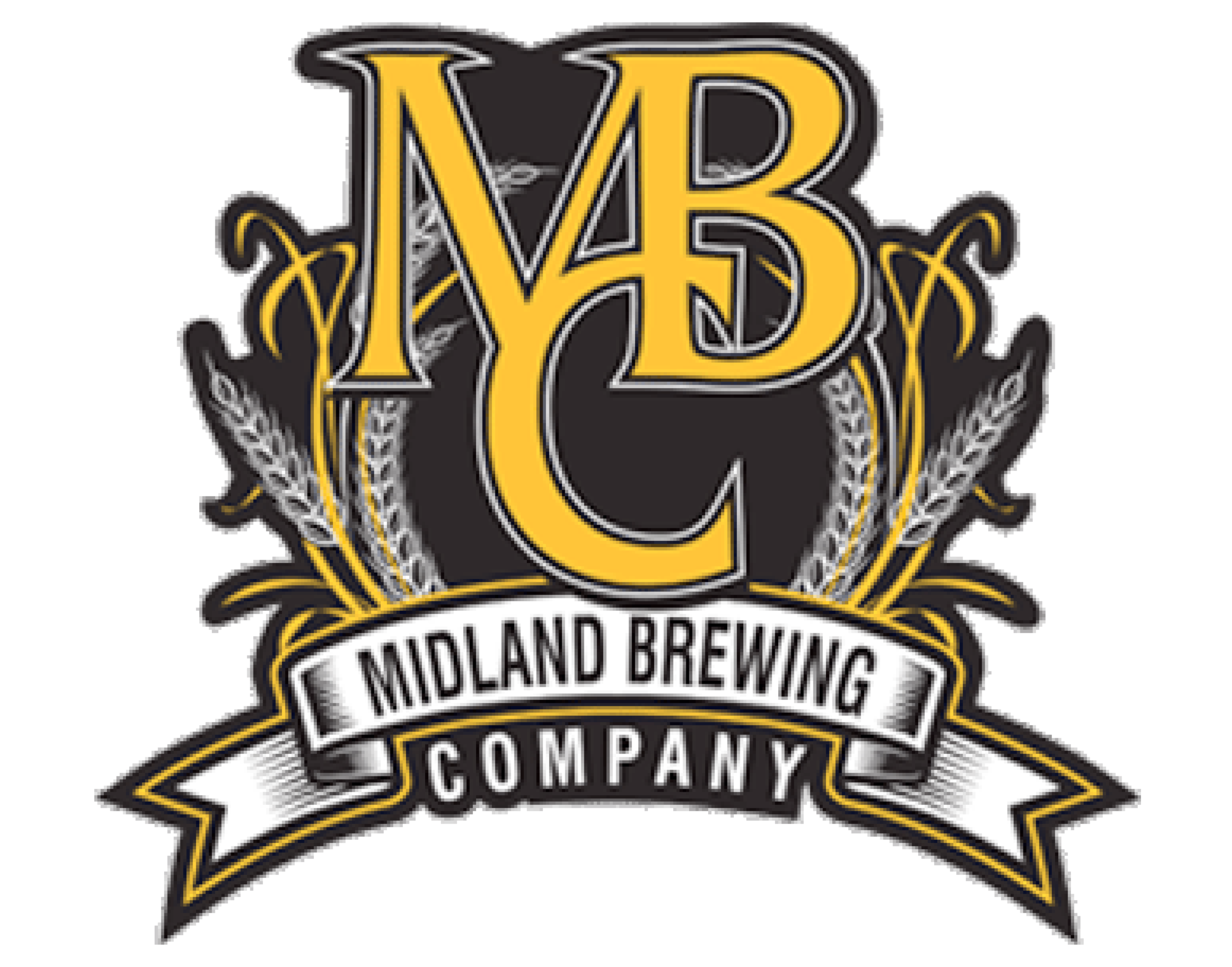 Midland Brewing Company logo. Link to Midland Brewing Company website.