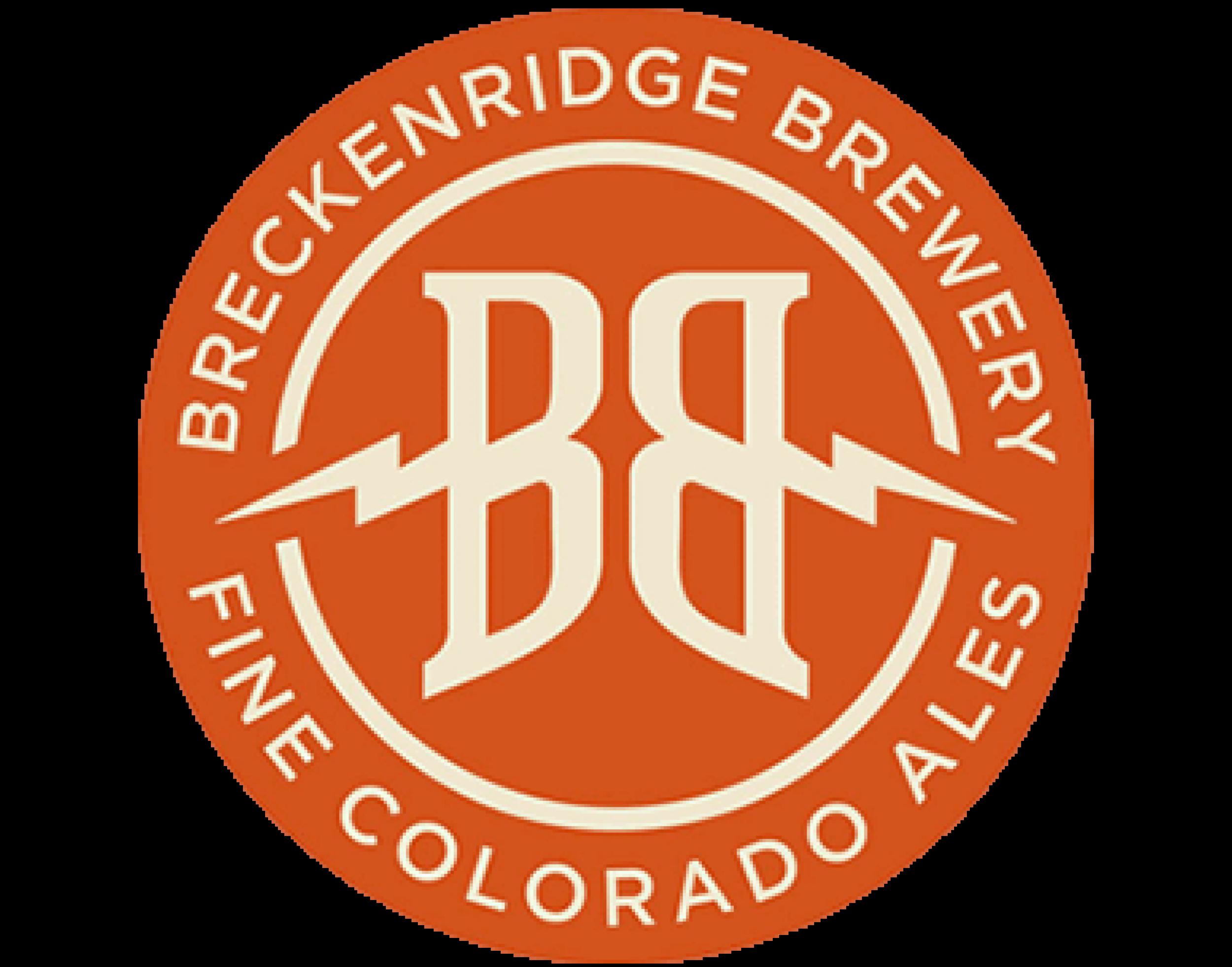 Breckenridge Brewery logo. Links to Breckenridge Brewery website.