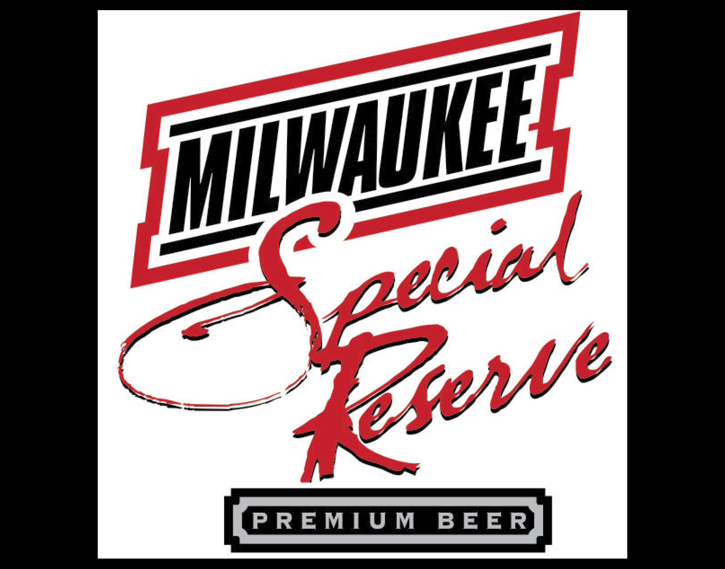 Milwaukee Special Reserve logo. Links to Milwaukee Special Reserve website.
