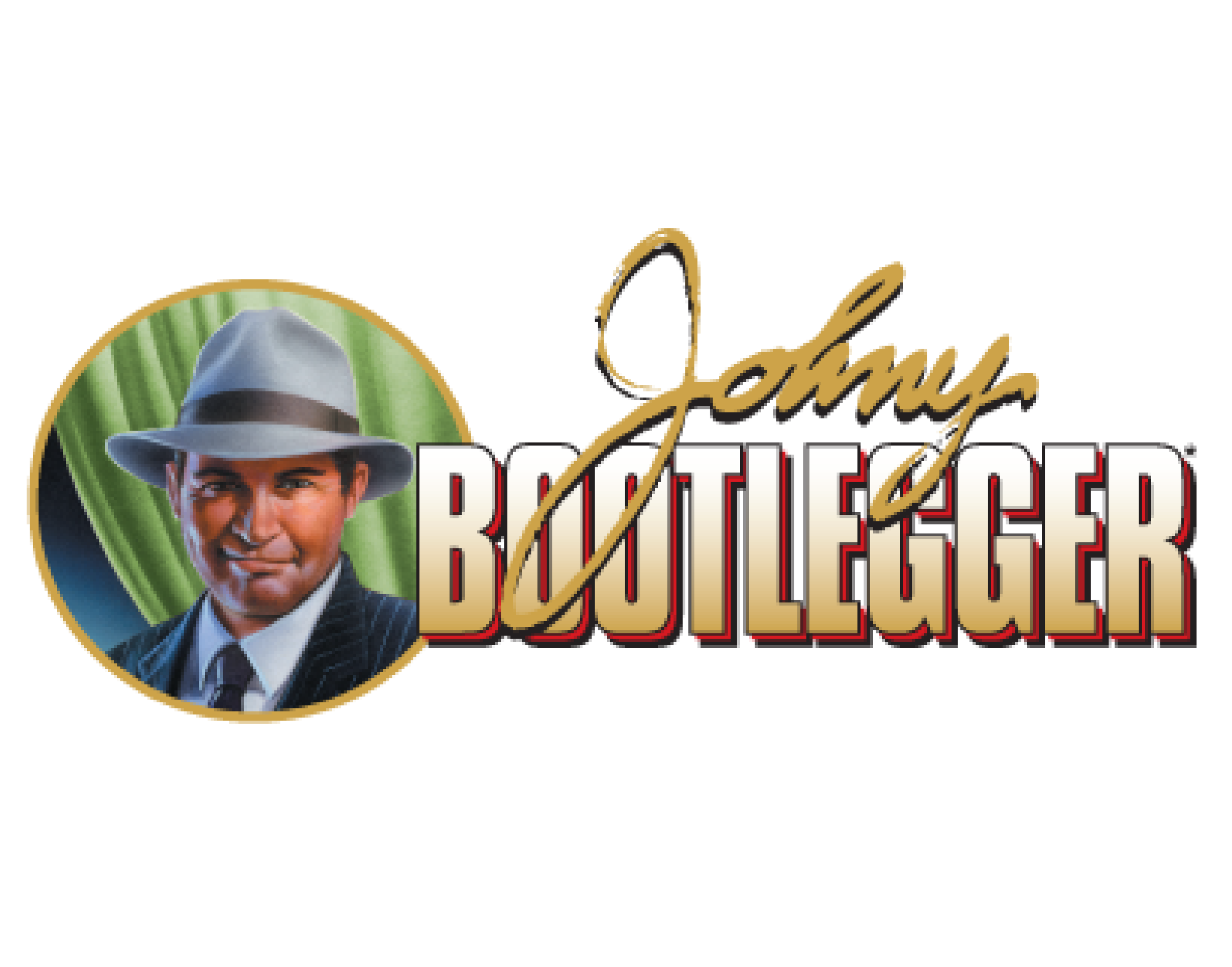 Johny Bootlegger logo. Links to Johny Bootlegger website.