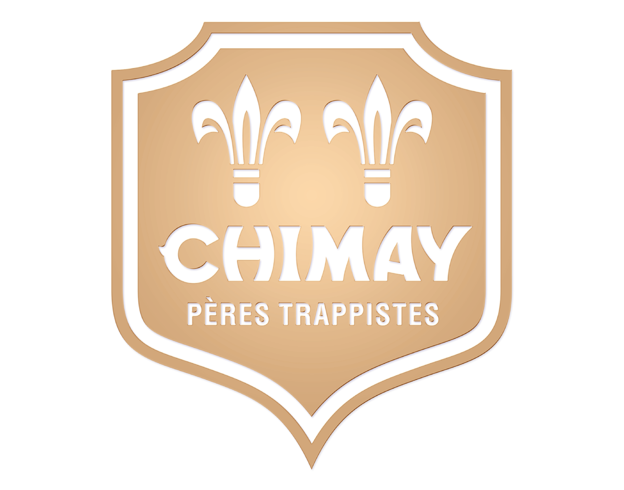 Chimay logo. Links to Chimay website.