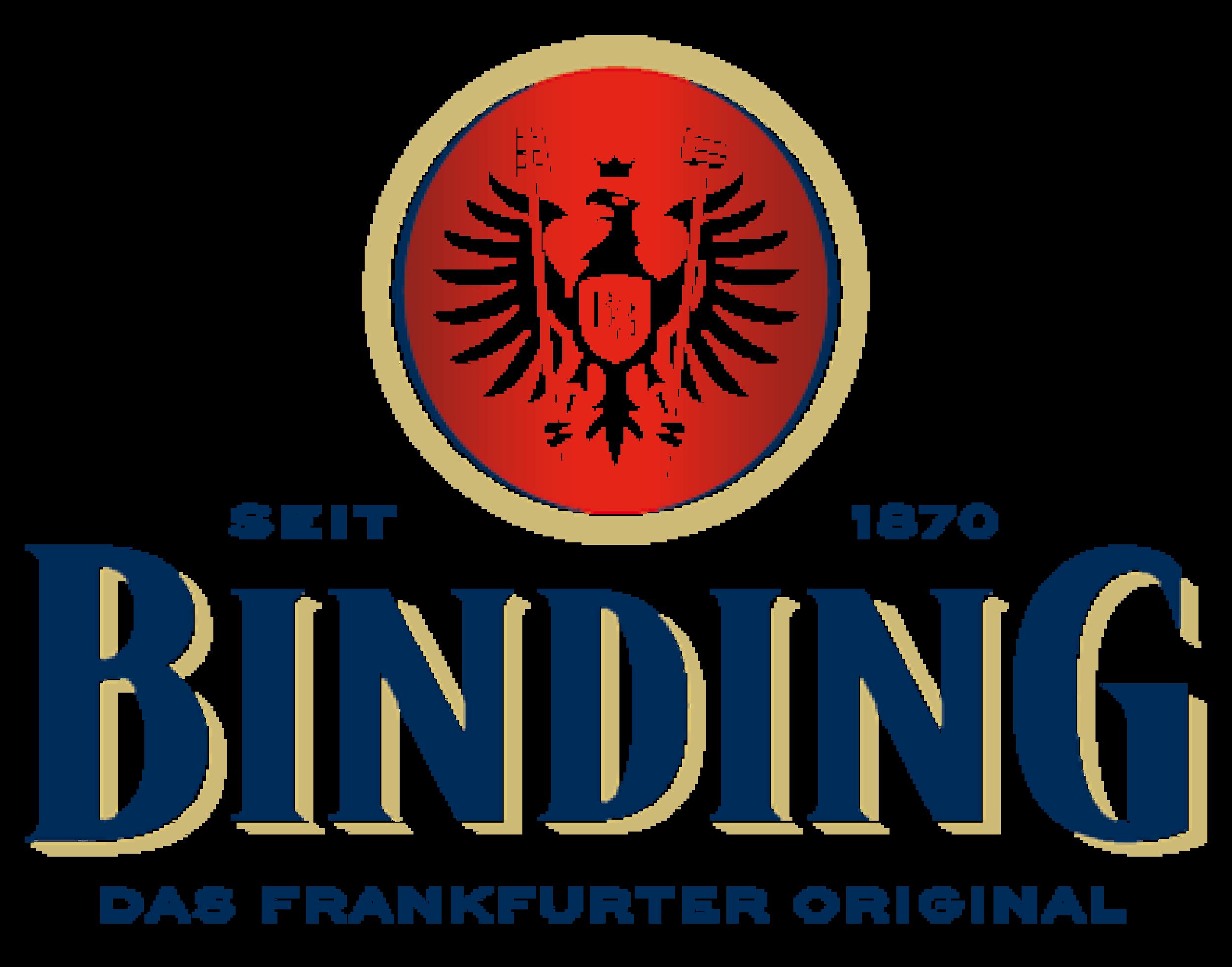 Binding logo. Links to Binding website.