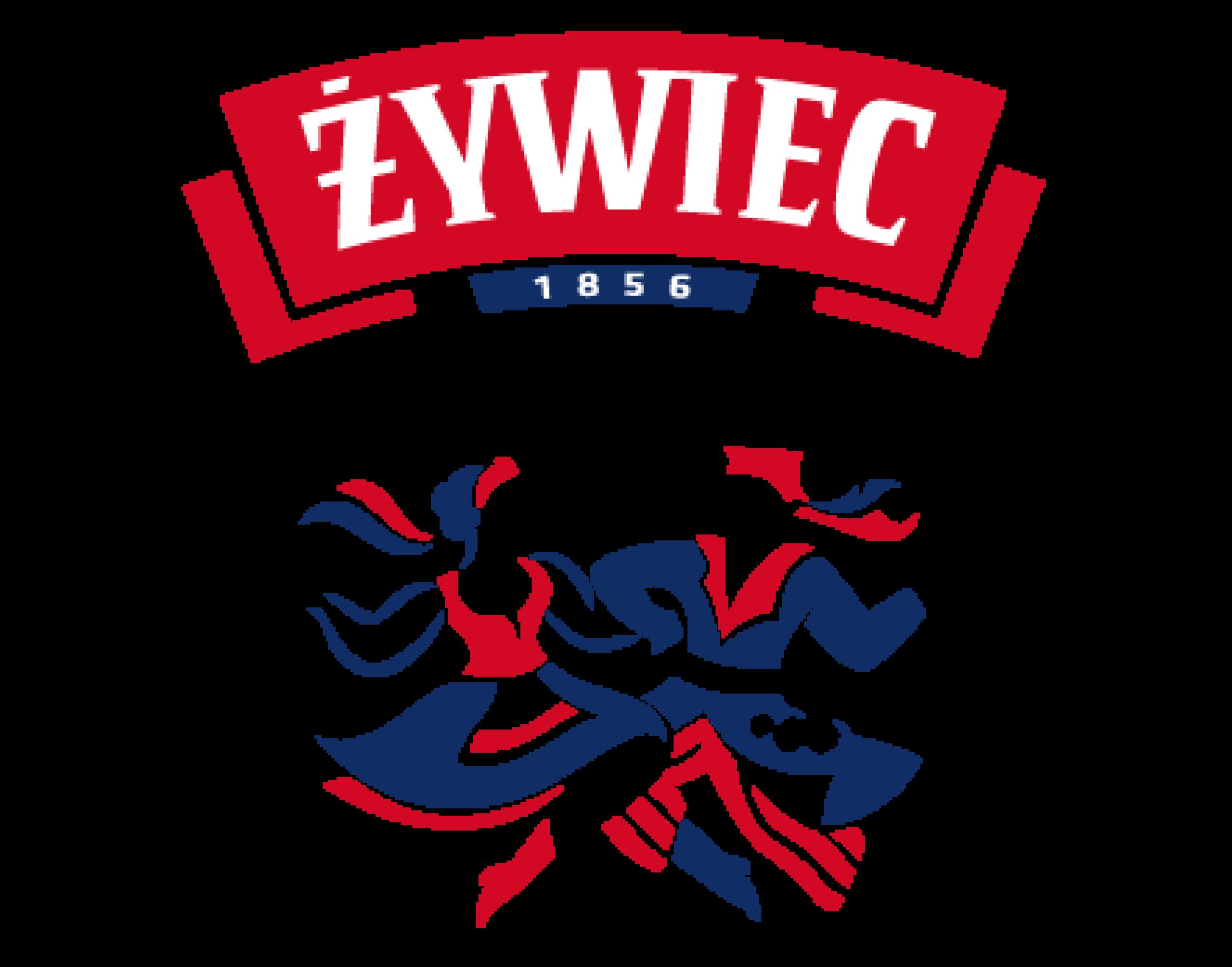 Zywiec logo. Links to Zywiec website.