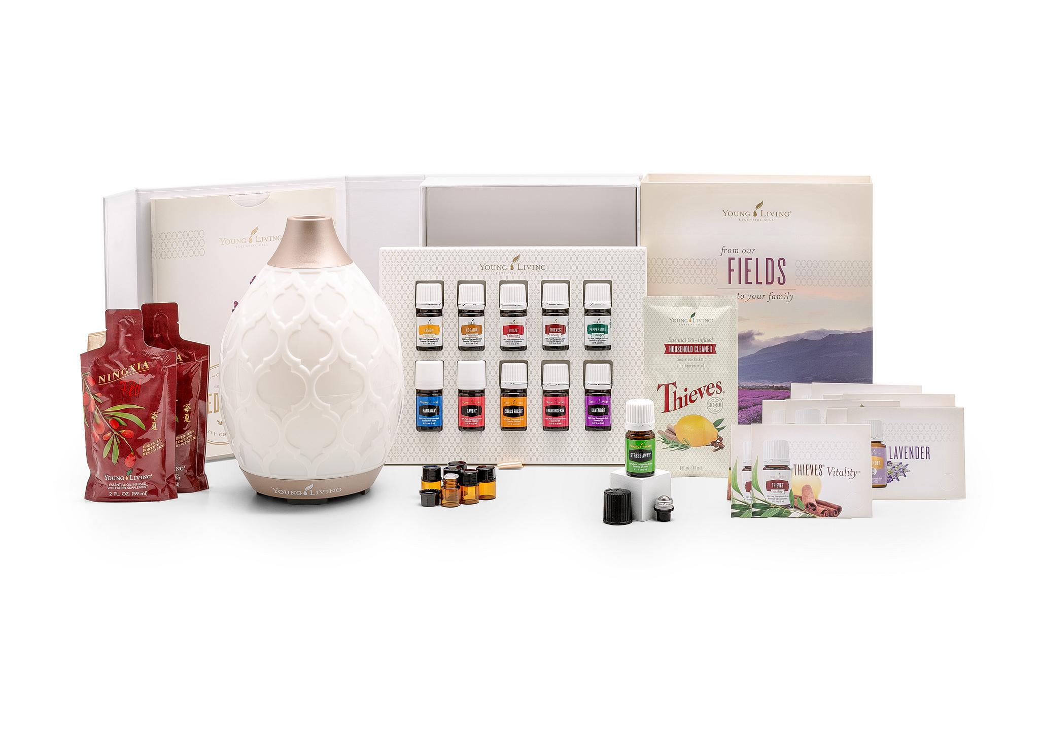 Essential Oils + Diffuser