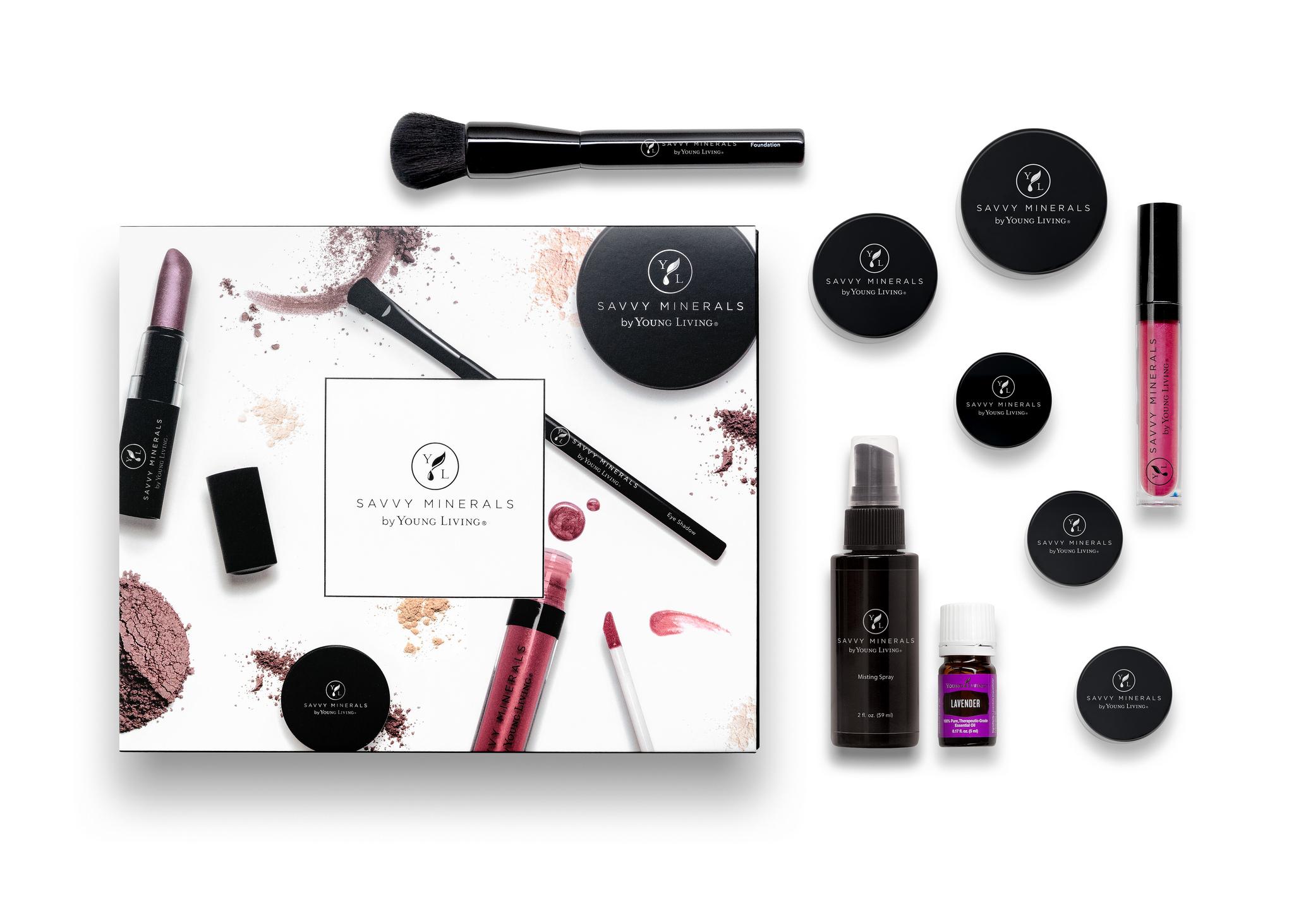 Savvy Minerals Makeup Set
