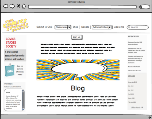 Final Design (Home page)