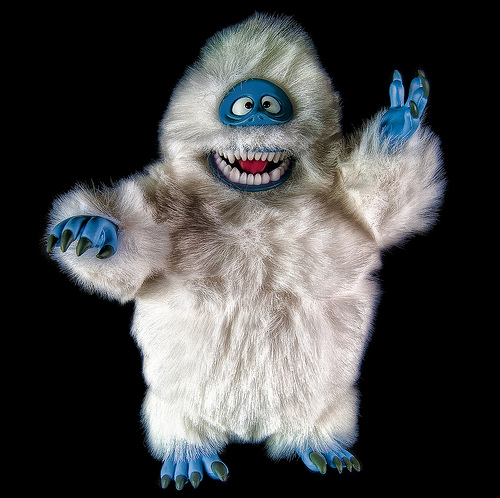 """ [abominable snowman] "" ( CC BY 2.0 ) by  pocolover1957"
