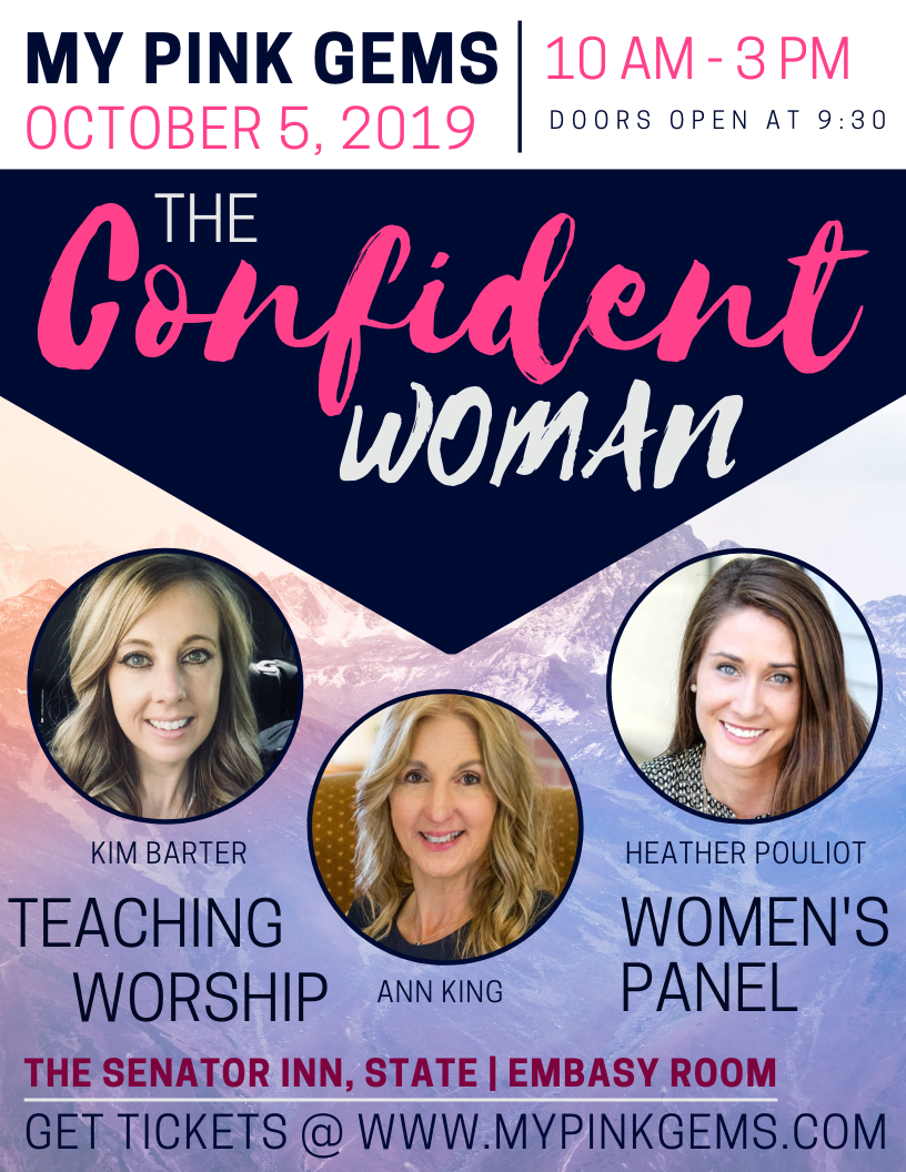 "Pink Gems 2019 Event! - My Pink Gems Ministries presentsthis years event, ""TheConfident Woman""!"