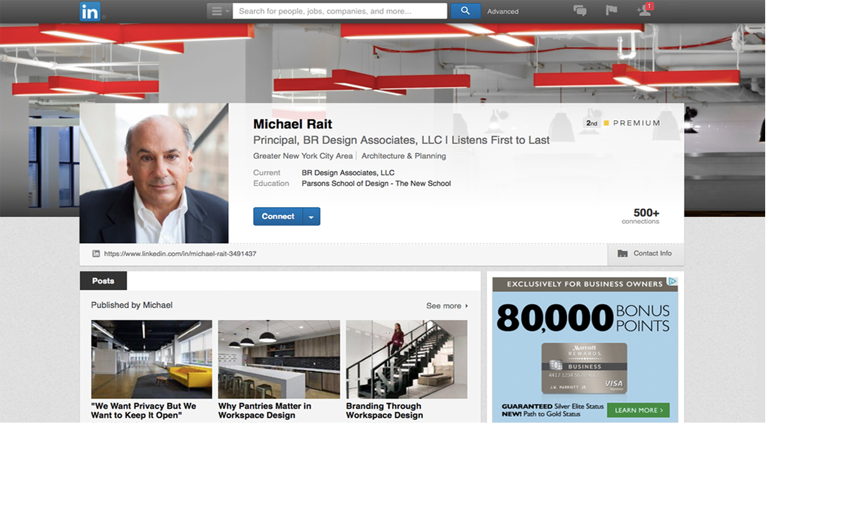 Personal Branding | Michael Rait, Principal at BR Design Associates | Listens First