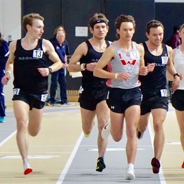 Slightly belated news, but excited to announce that we've partnered with #runninrabbit and we're incredibly excited and thankful for the opportunity to continue to build on what we believe and do what we love! Yesterday we kicked off the spring season by dropping a few marathoners into our favorite indoor 5k at CU. Shout out to Chris for being such a solid mid race coach and yelling his lungs out. #ozac #rabbitclub #bigthingscoming #runtheoz