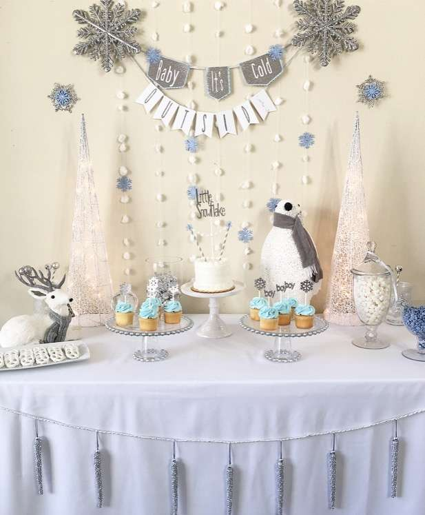"""Baby It's Cold Outside"" Winter Baby Shower"