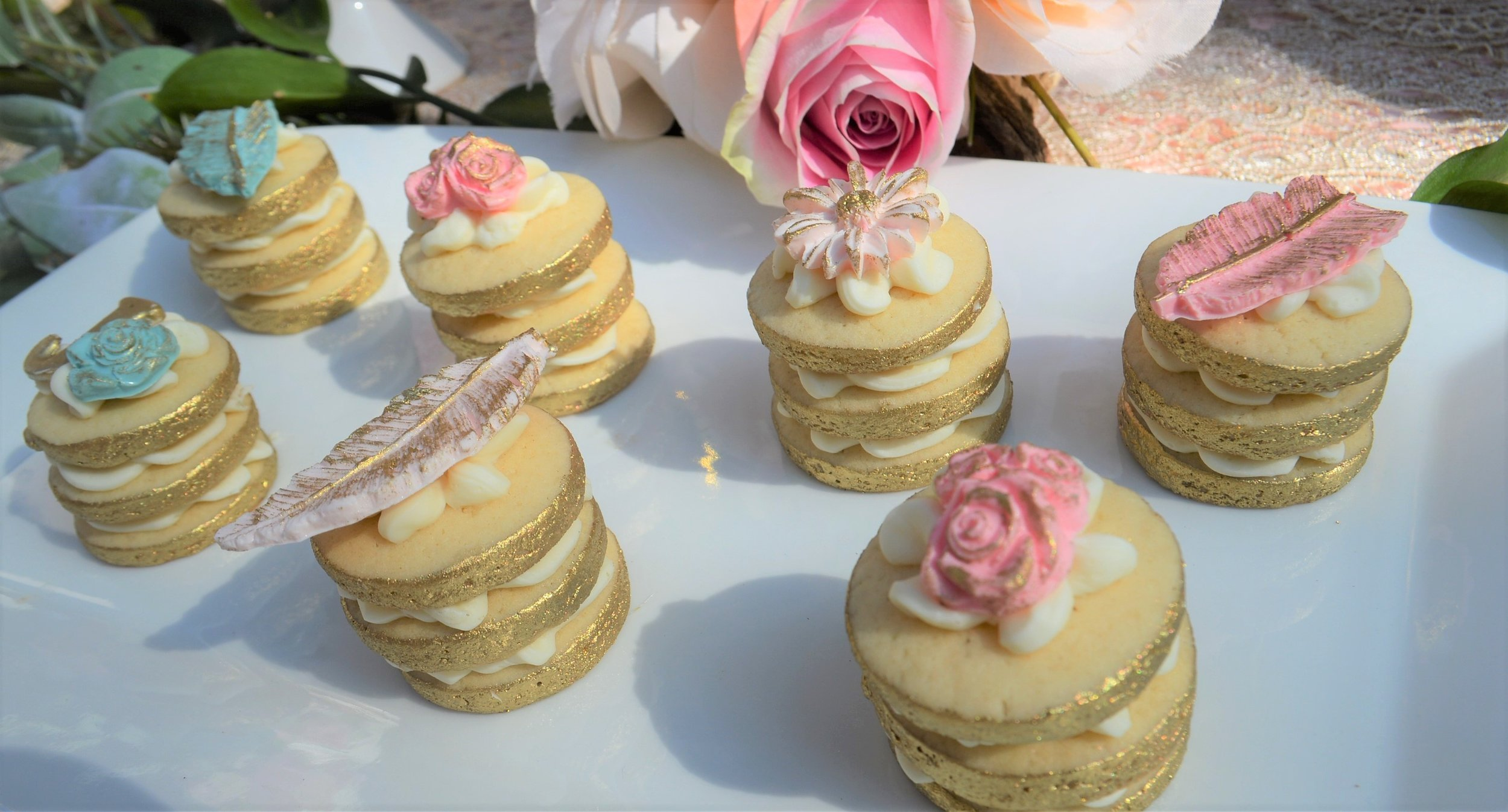 3 Tiered sugar cookies