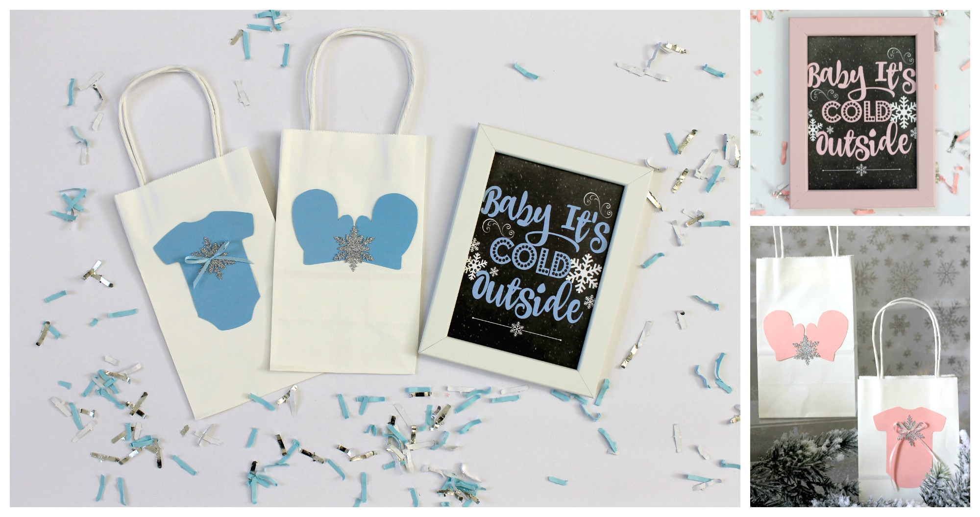 Baby It's Cold Outside- Winter theme baby shower-Favor Bags-www.SugarPartiesLA.com.jpg