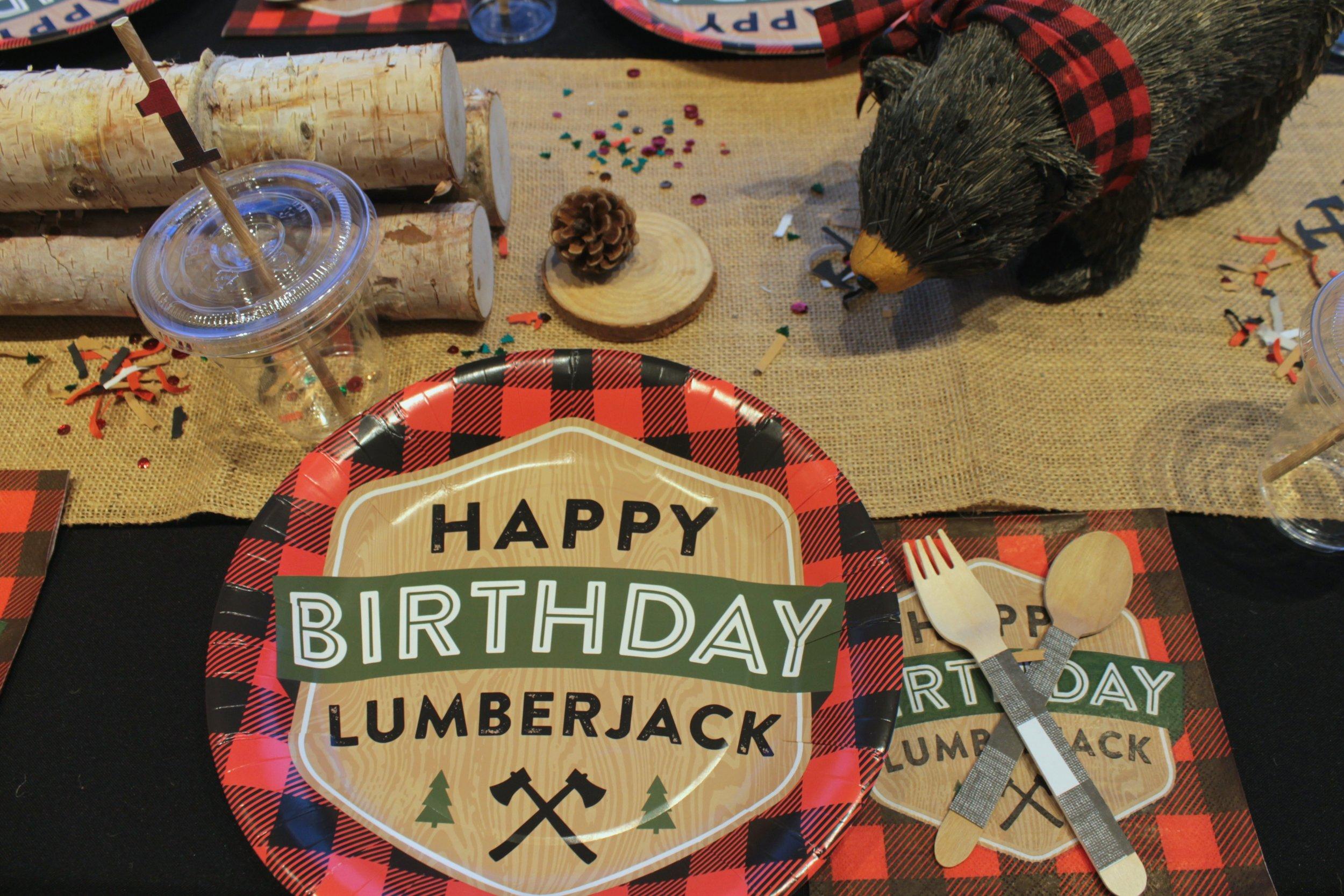 Happy Birthday Lumber Jack-1-Birthday Boy-LumberJack Party Table-Kids Party-www.SugarPartiesLA.com.jpg