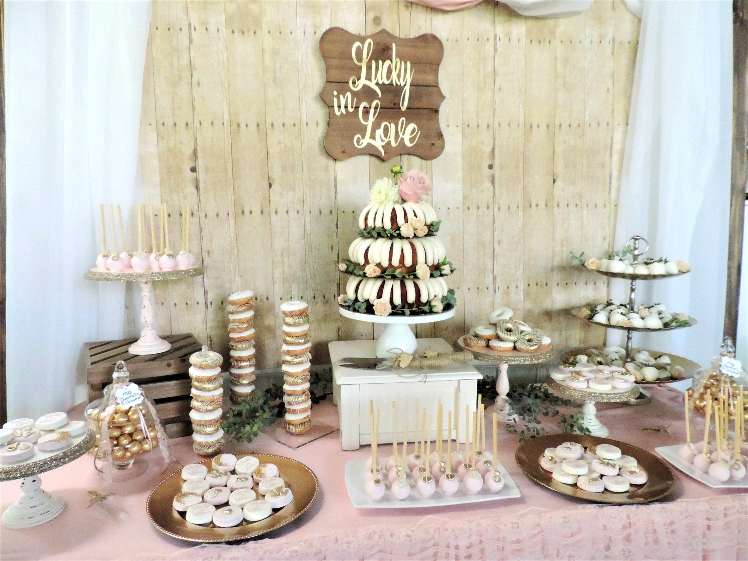 Rustic Wedding-Blush pink wedding-wedding cake-nothing bundt cake-bundt wedding cake-wedding-wedding dessert table-www.SugarPartiesLA.com.jpg