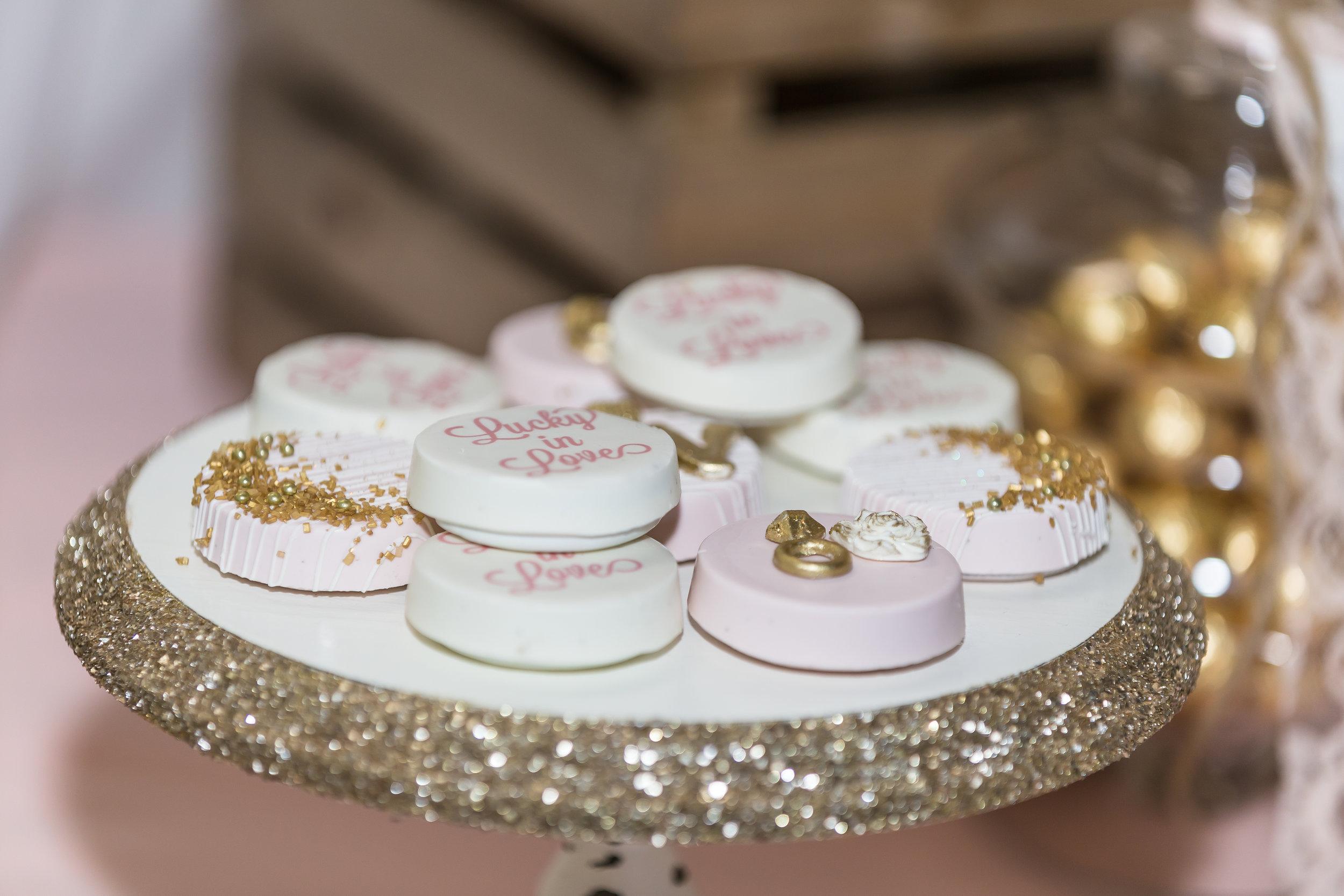Wedding Desserts-chocolate covered oreos-rustic wedding-wedding dessert ideas-wedding dessert table-www.SugarPartiesLA.com
