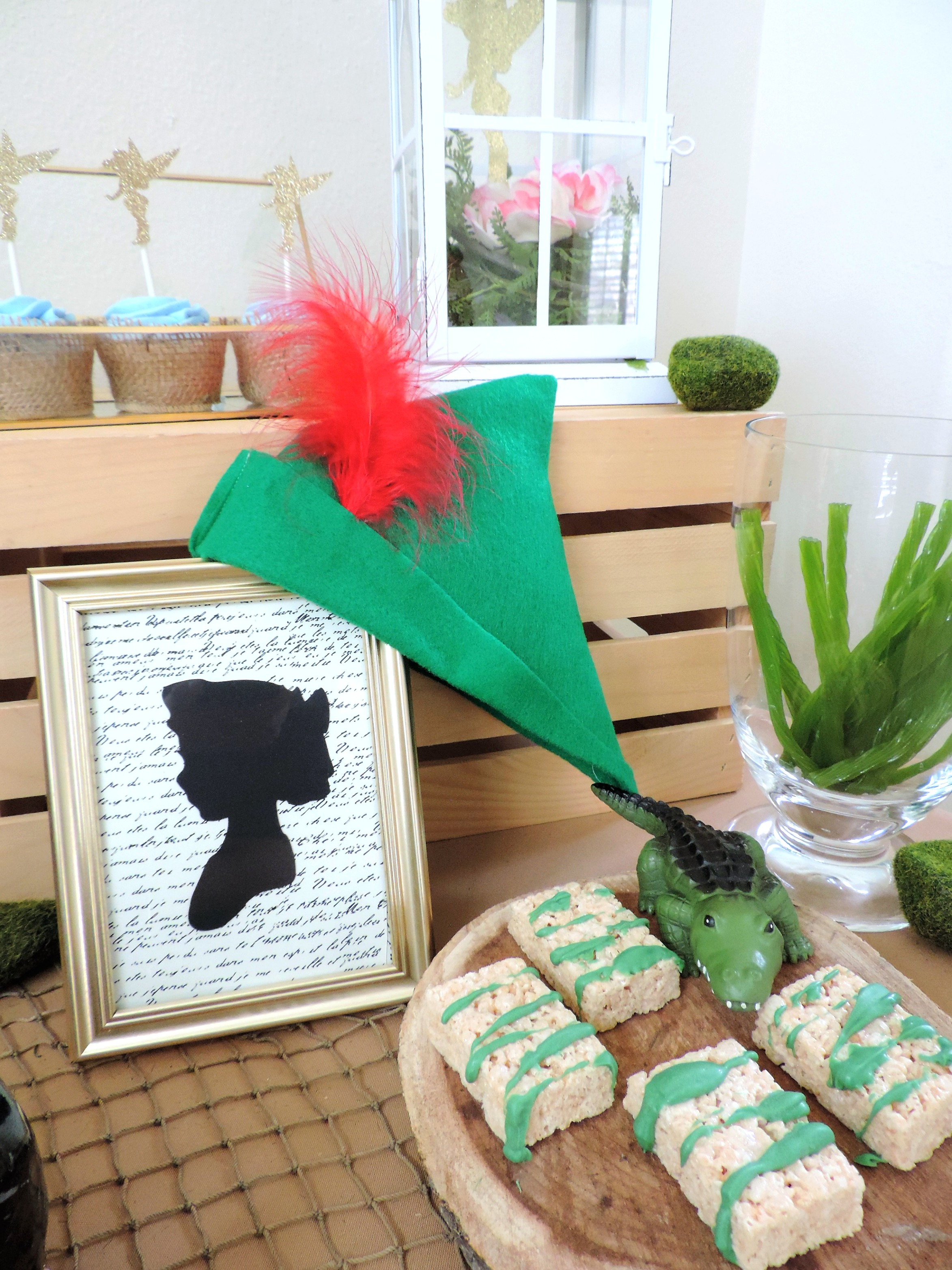 Peter Pan and Wendy-Peter Pan Party-Tinkerbell-Peter Pan Party Decor-peter pan party ideas-peter pan birthday-peter pan birthday decor-www.SugarPartiesLA.com.jpg