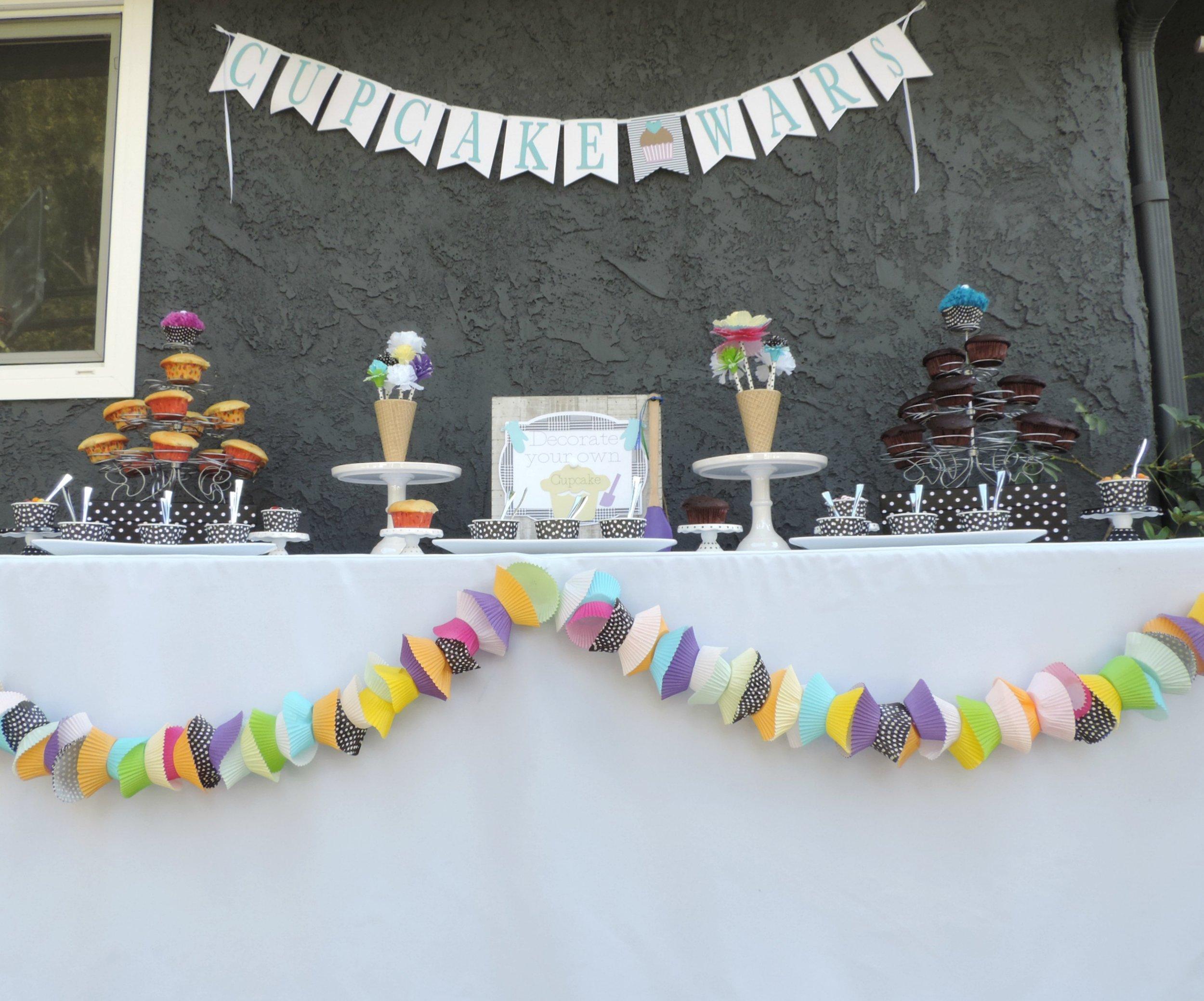 Cupcake party-cupcake wars-cupcake decorating party ideas-cupcake wars banner.jpg