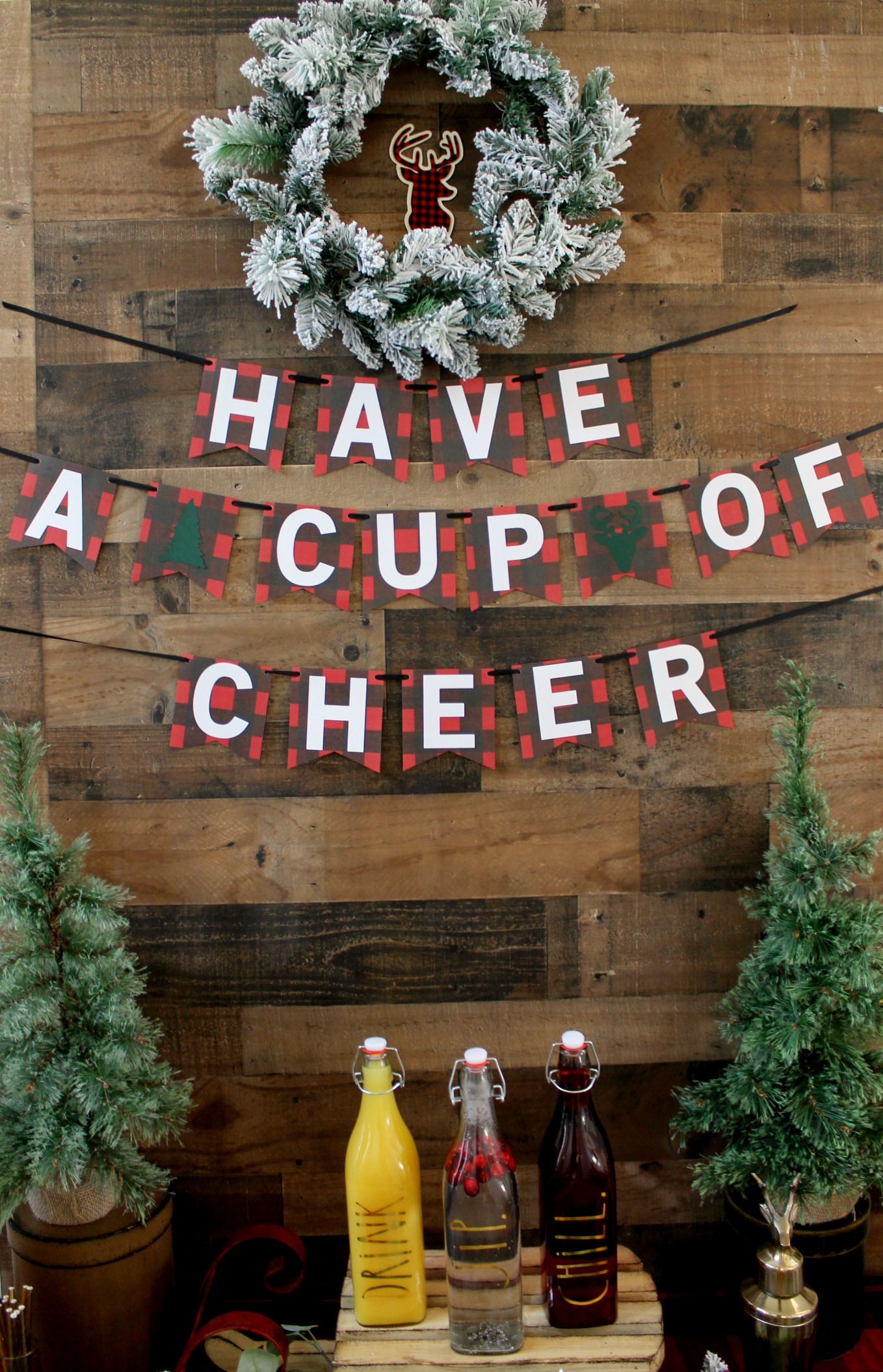 Have a cup of cheer-holiday drinks-Christmas party-red plaid-buffalo plaid-christmas party ideas-www.sugarpartiesla.com .jpg