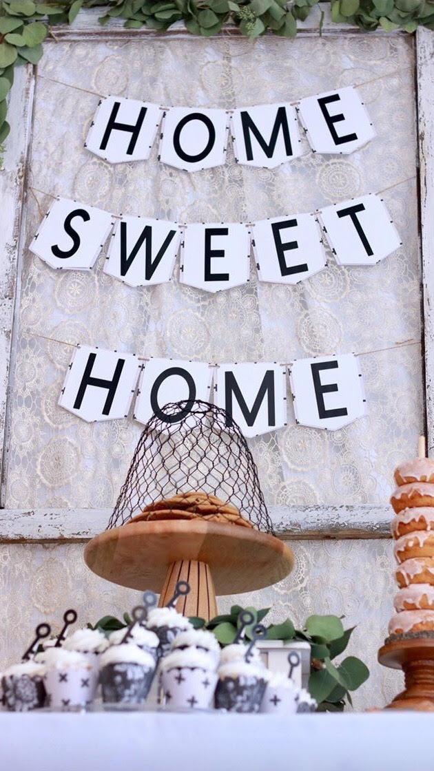 unnamHome Sweet home-home sweet home banner-housewarming party-housewarming party ideas-boho chic-new home-new home party ideas-www.SugarPartiesLA.com