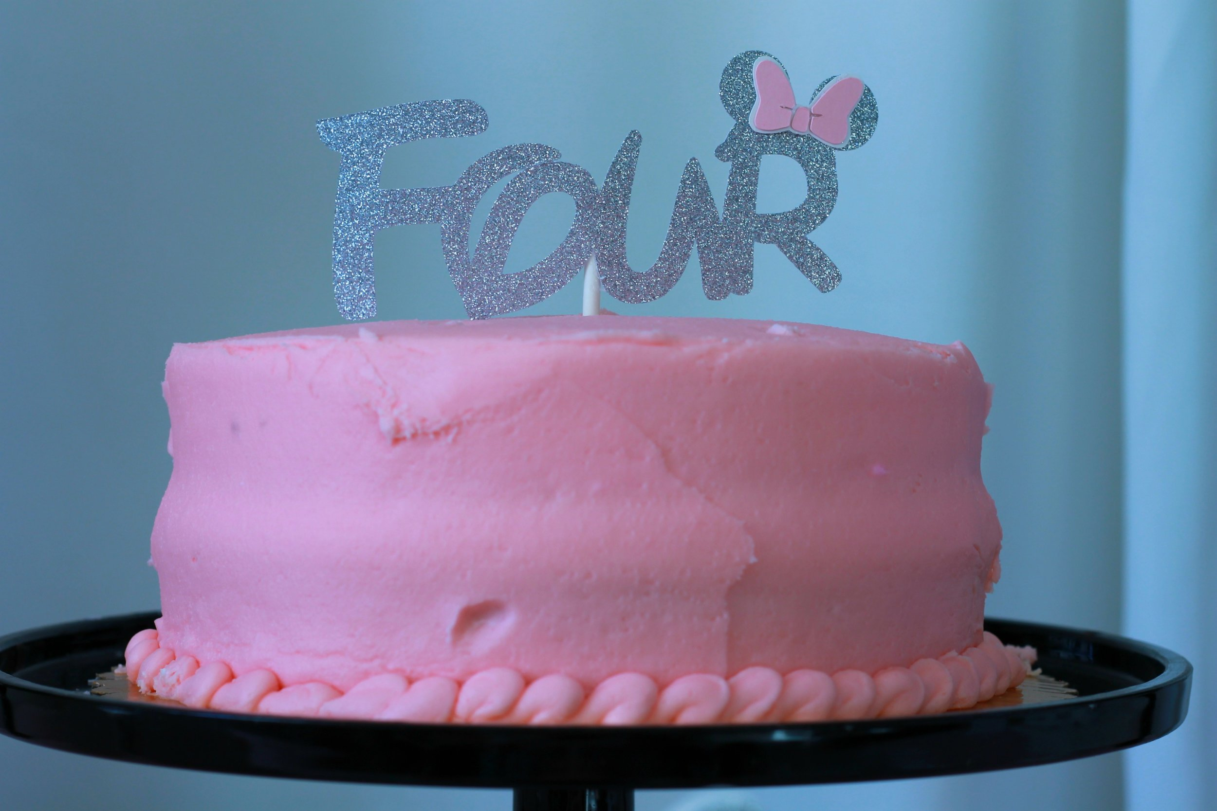 Age Cake Topper - Your cake topper can be customized to any age needed.