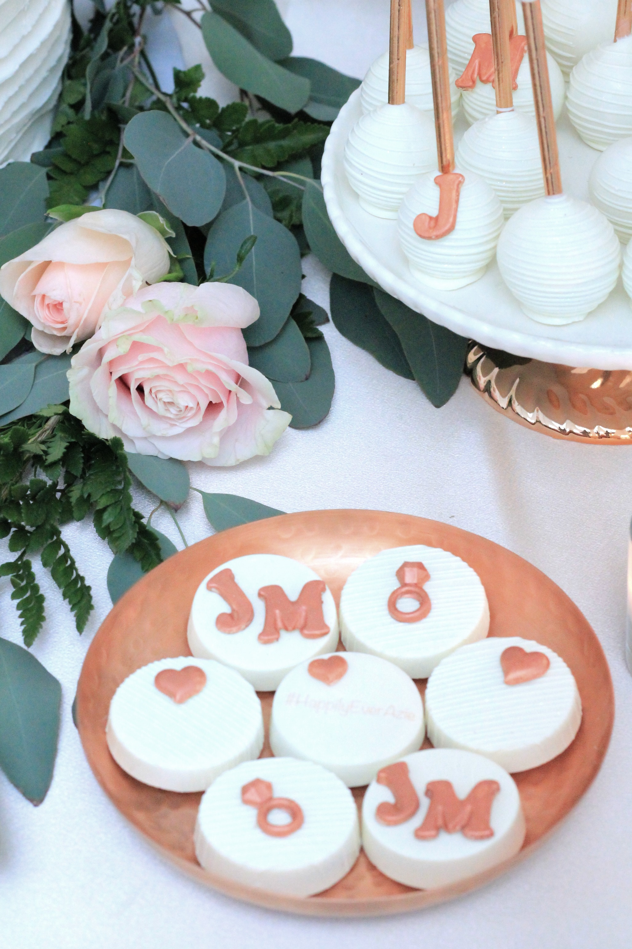engagement party-copper wedding-rose gold wedding-Wedding Dessert Table-Rose Gold Dessert Ideas-Engagement Party Dessert Table-www.SugarPartiesLA.com.jpg