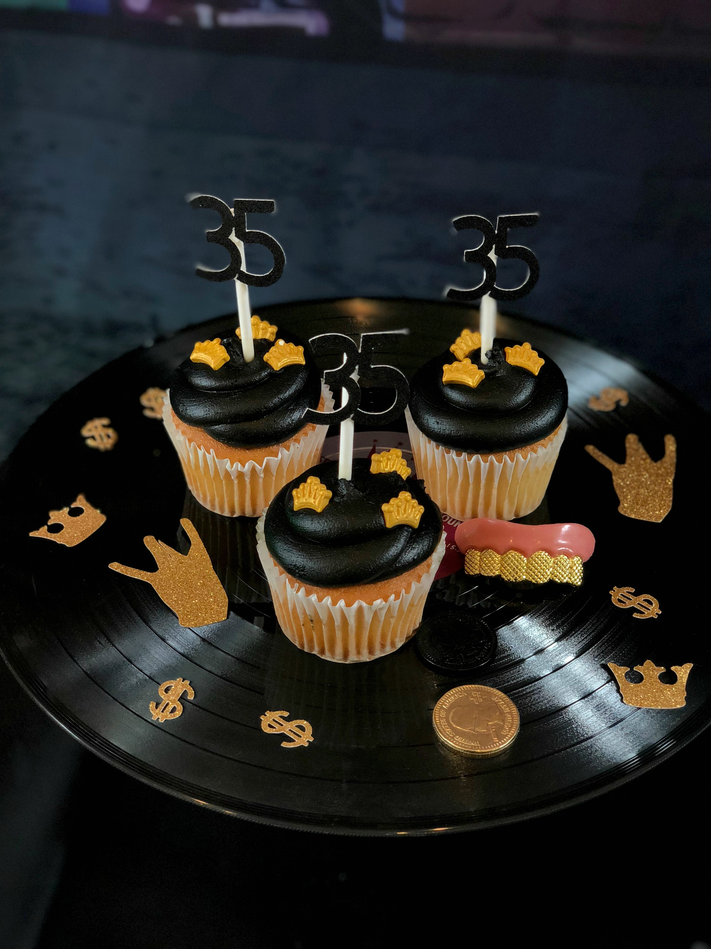 Cupcake Toppers-HipHop Dessert Ideas-35th Birthday-www.SugarPartiesLA.com.jpg