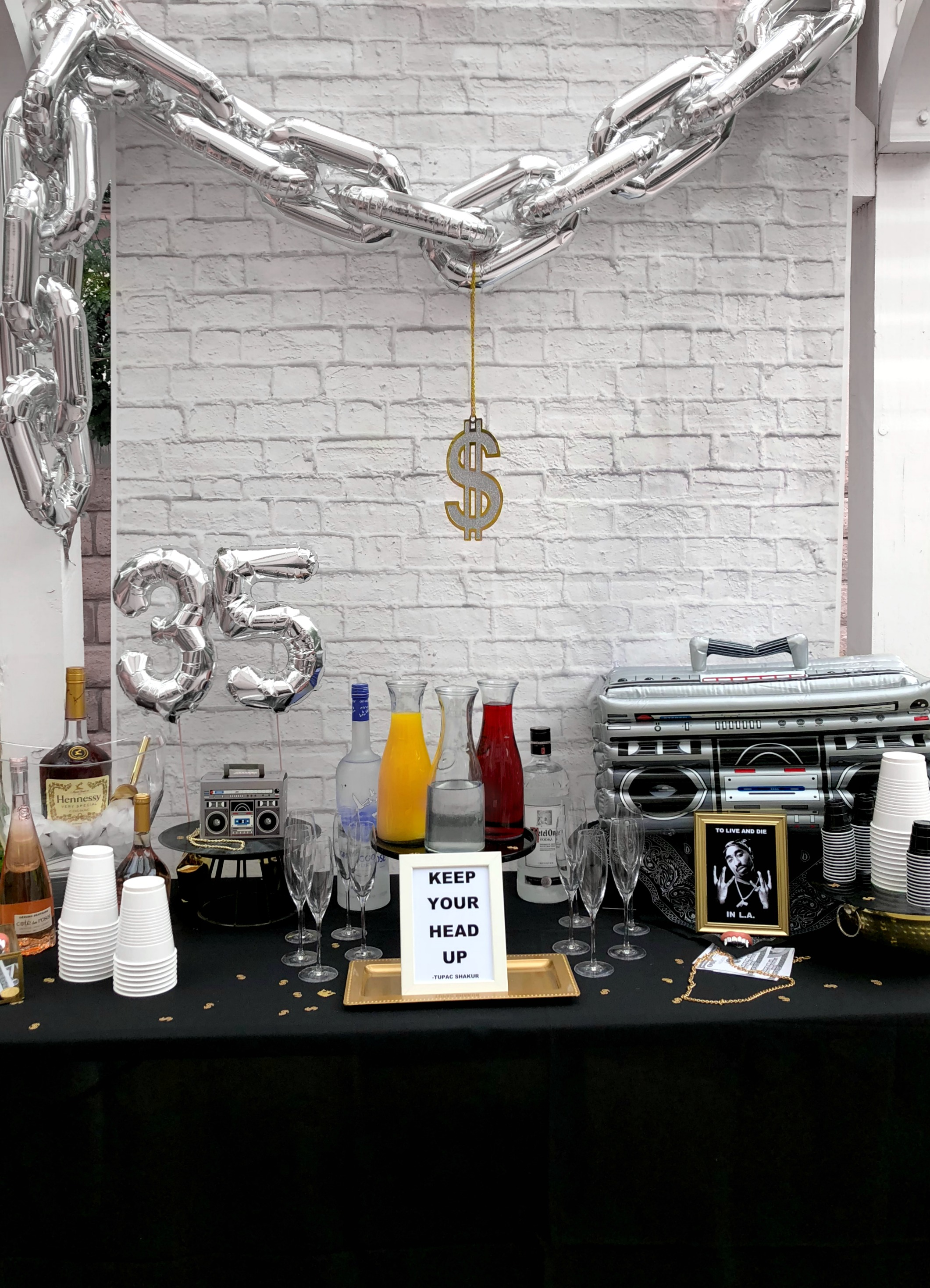 Hip Hop Drink Station Table-90'sParty Ideas-www.SugarPartiesLA.com.jpg
