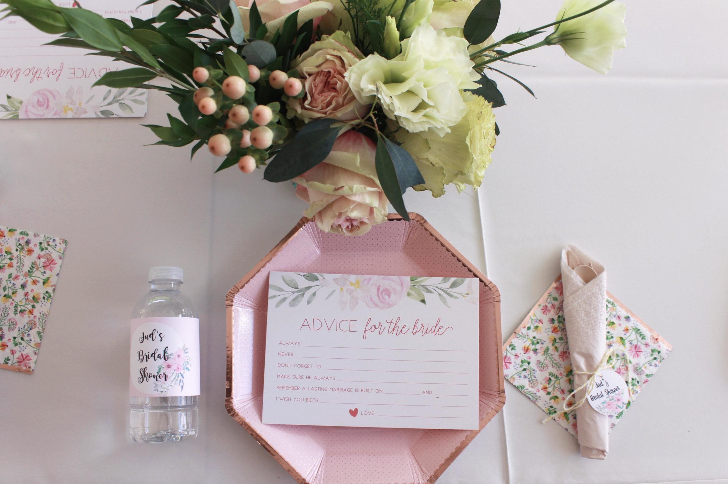 Bridal Shower Tablescape-Advice for the Bride-Bridal Shower-www.SugarPartiesla.com.jpg