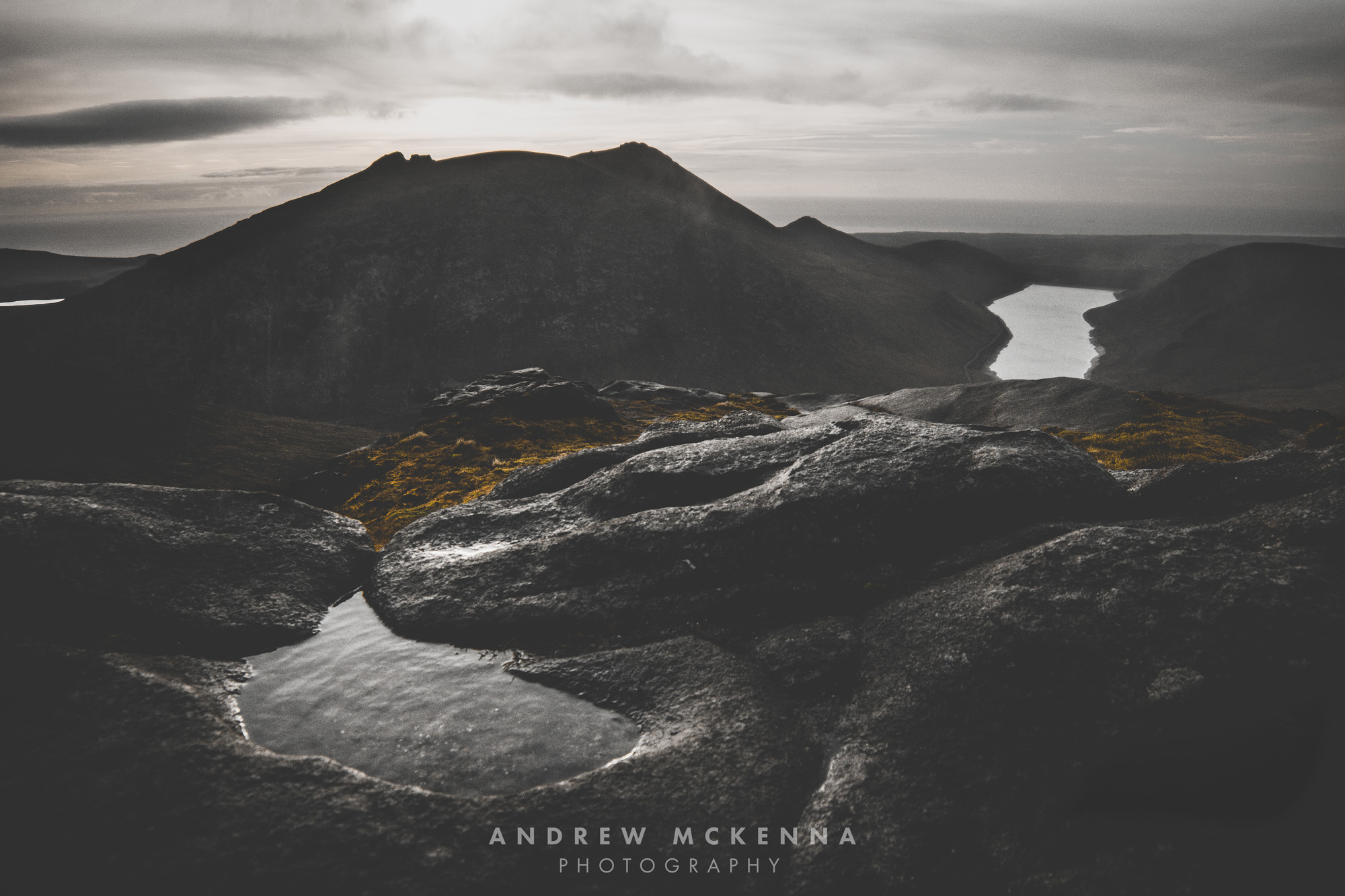 Sunrise Over  Slieve Doan Mourne Mountains Photography Andrew McKenna County Down