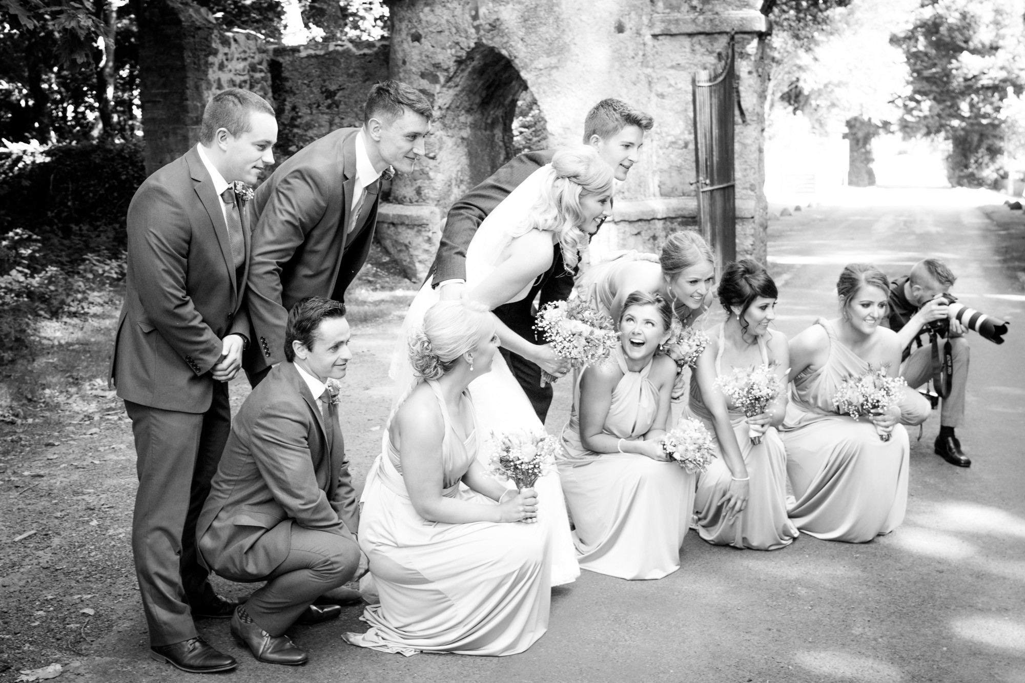 Tollymore Forest Park wedding Photography